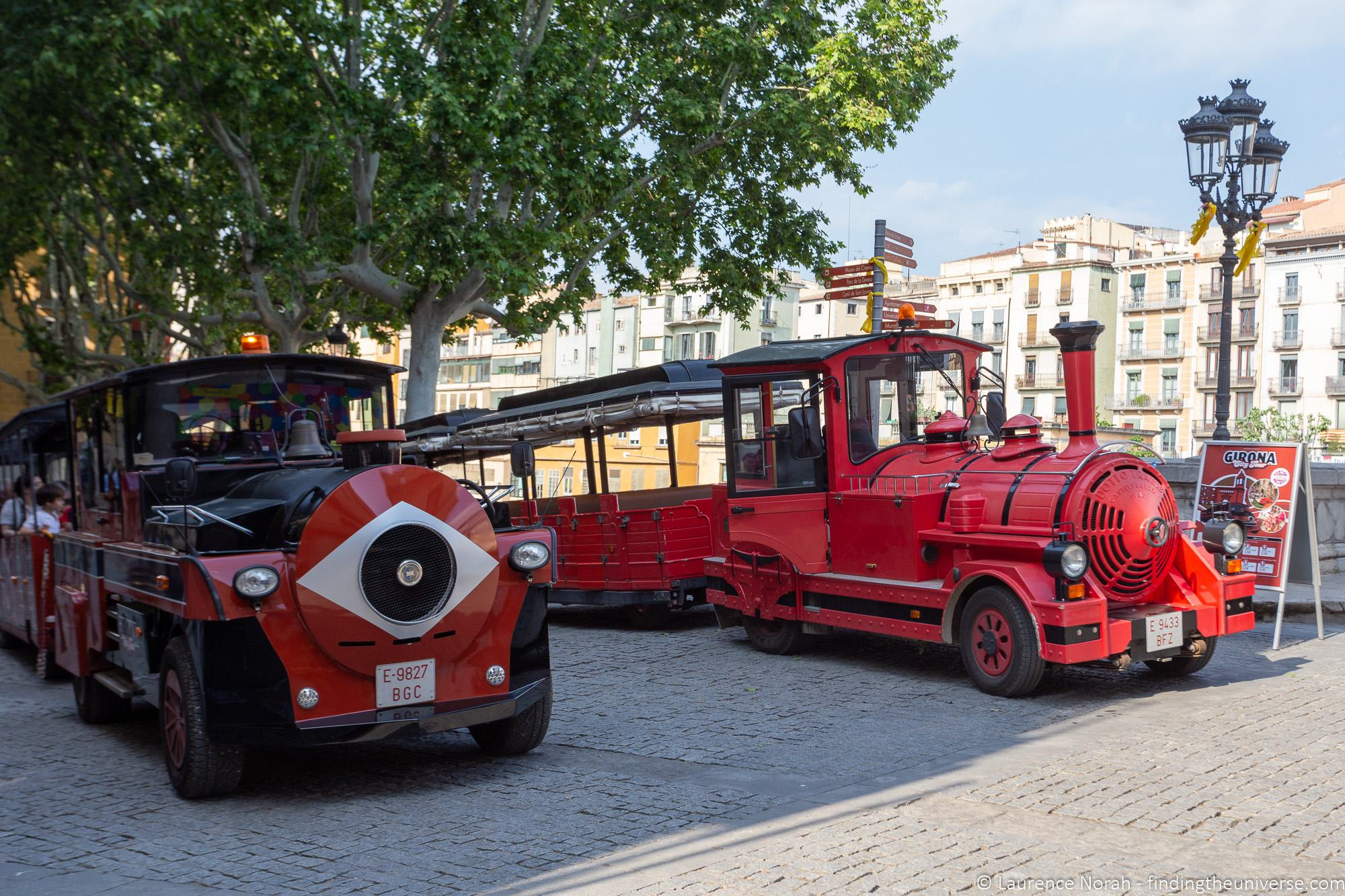 Girona Tourist Train