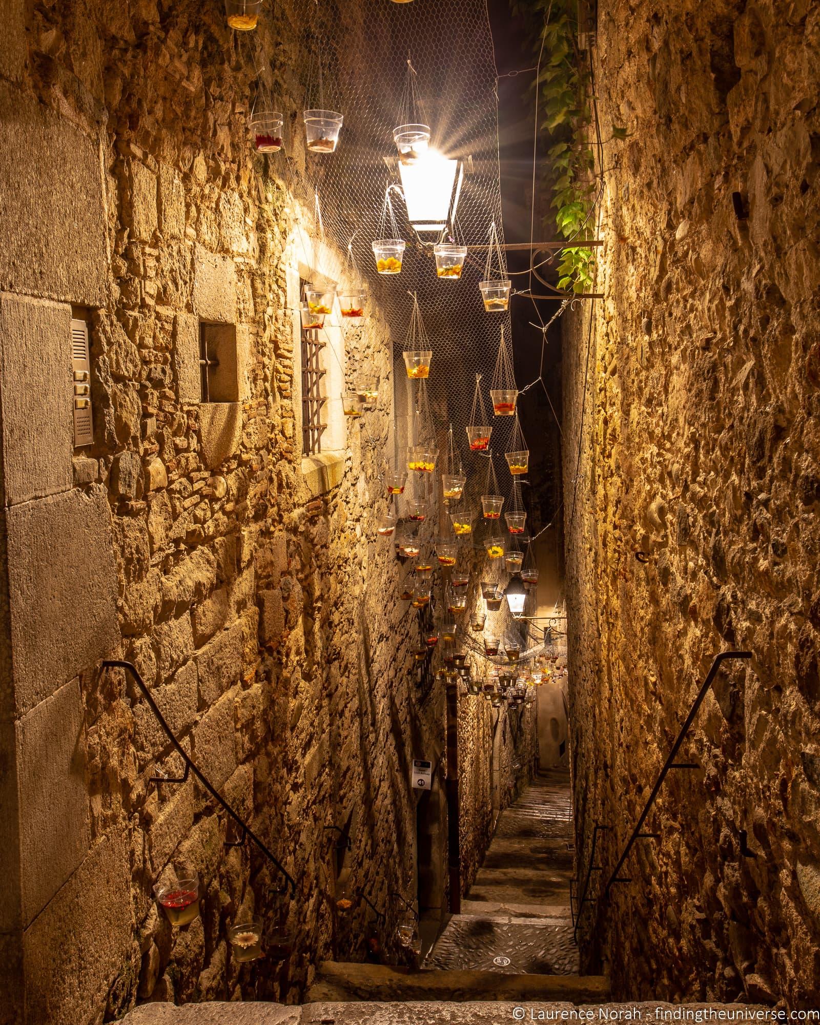 Girona night scenes