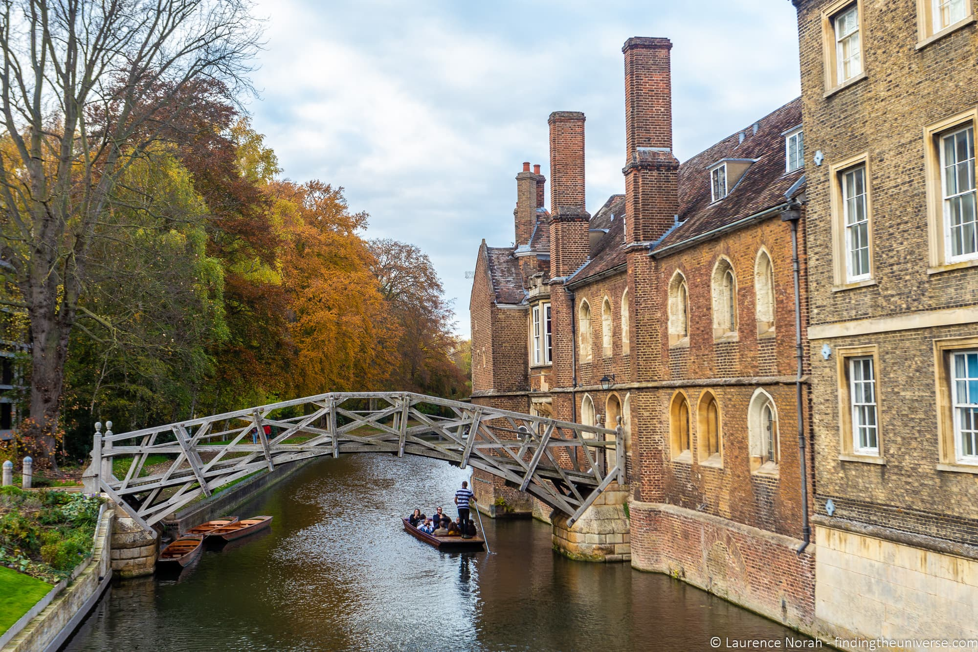 Mathematical bridge Cambridge