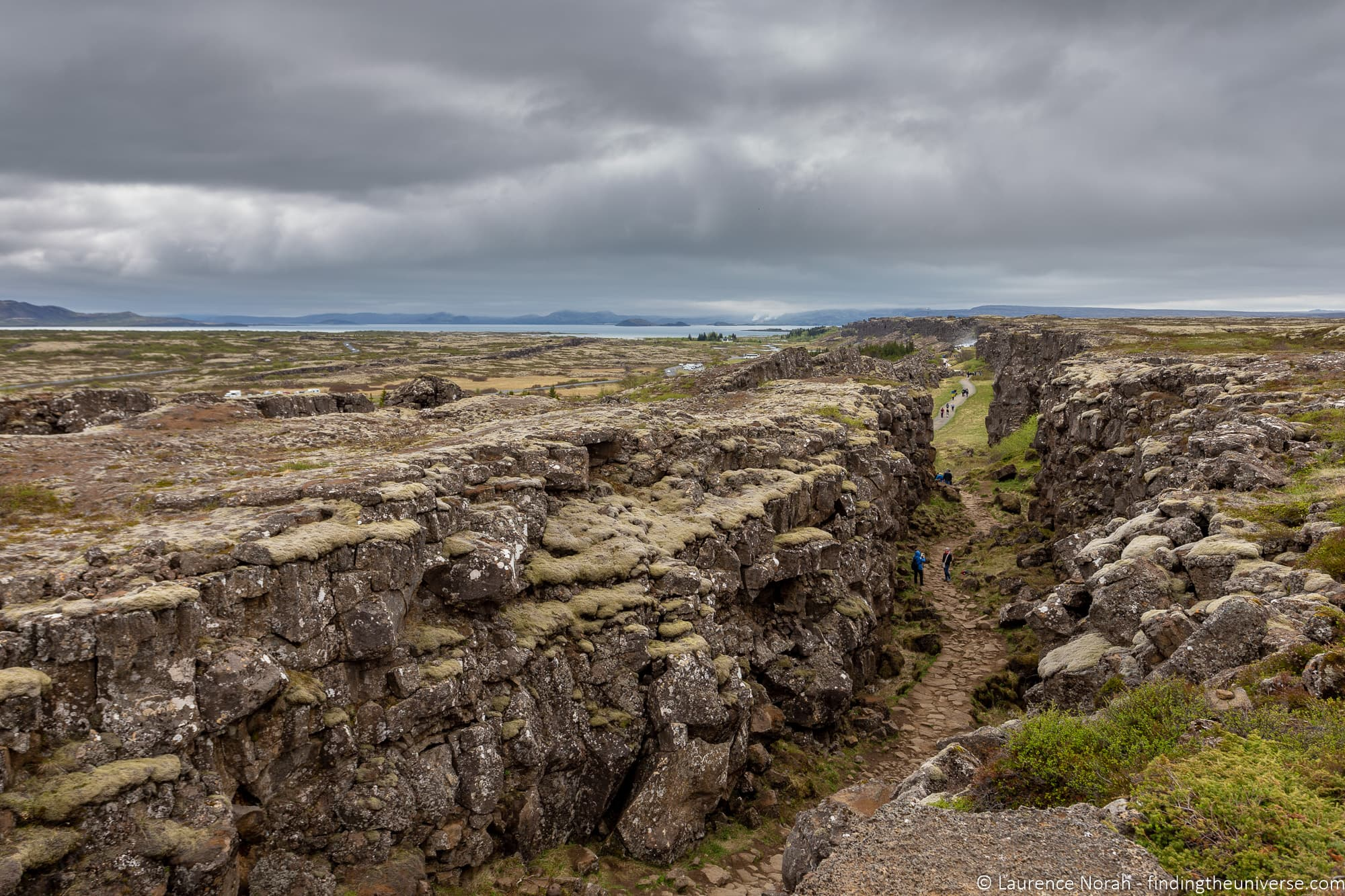 Oxrarfoss Trail Iceland - Games of Thrones Bloody Gate location