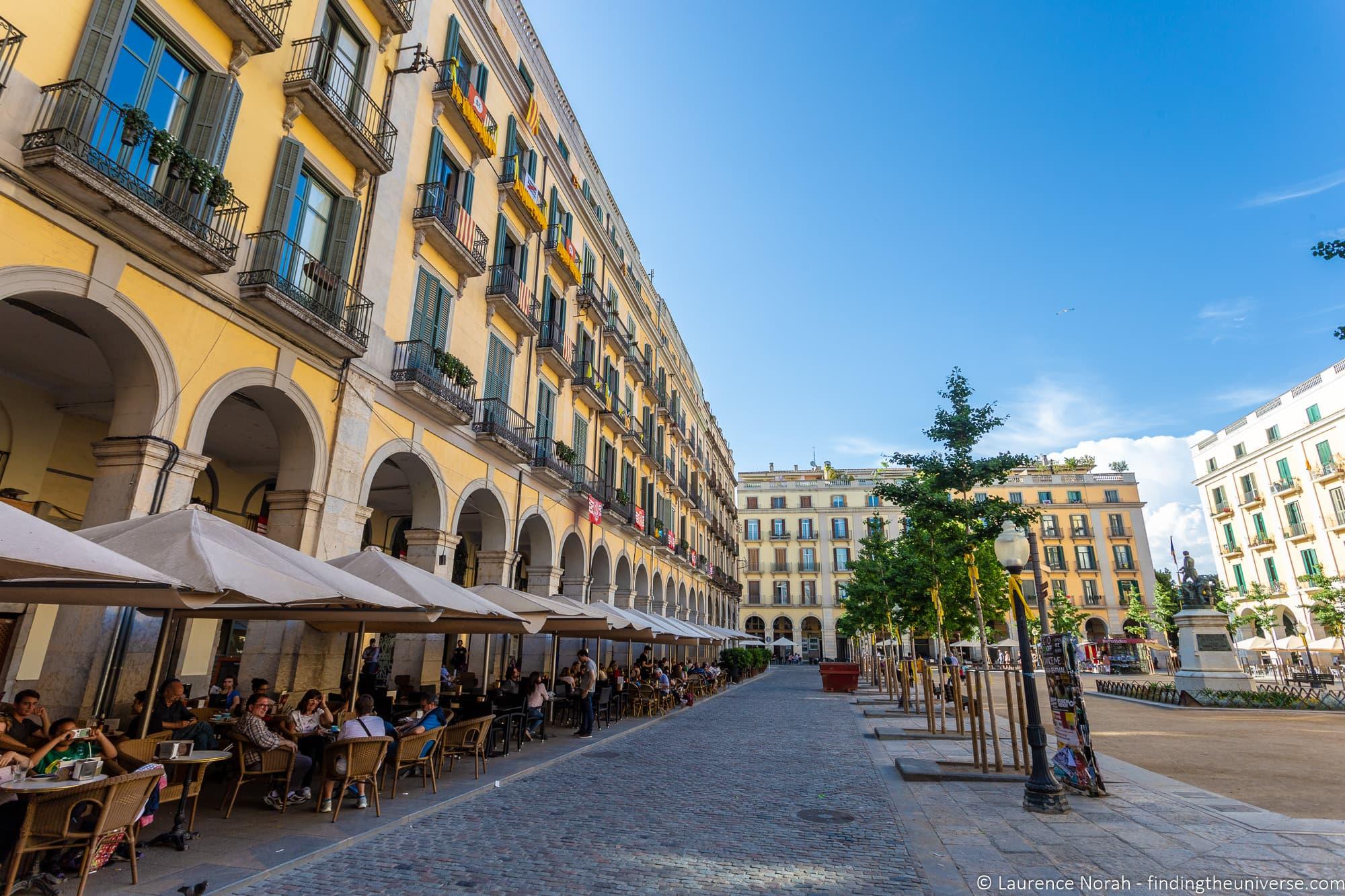 Plaça de la Independència Girona