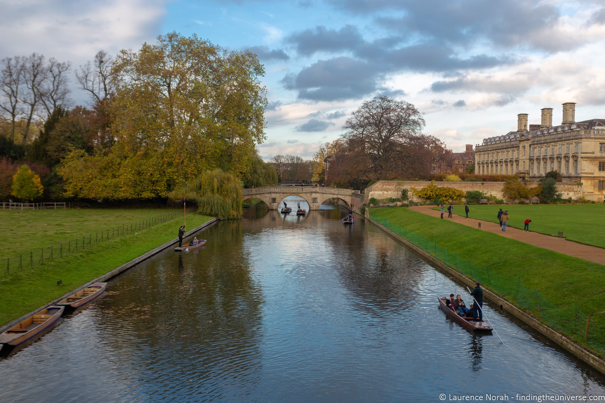 Punting River Cam Cambridge
