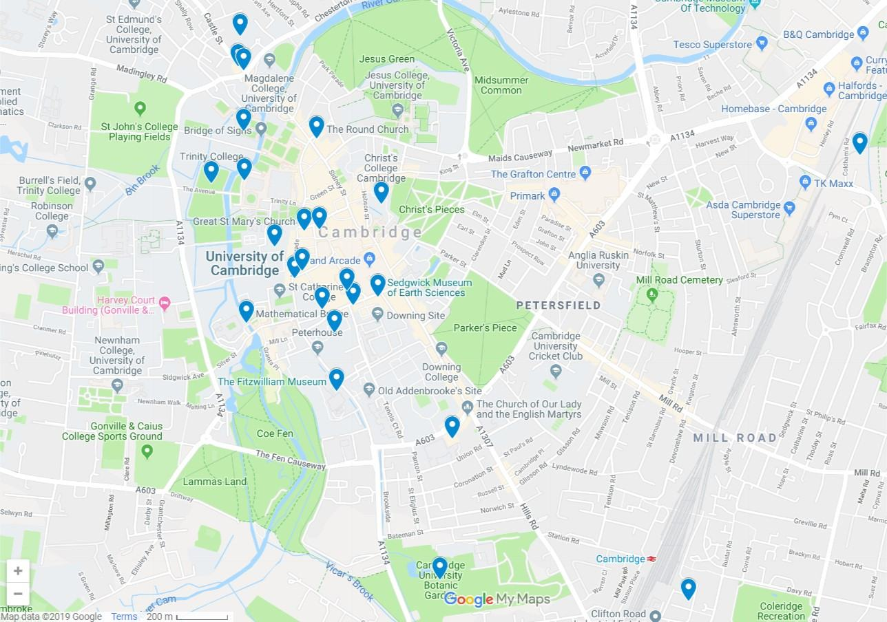Things to do in Cambridge UK - Finding the Universe on