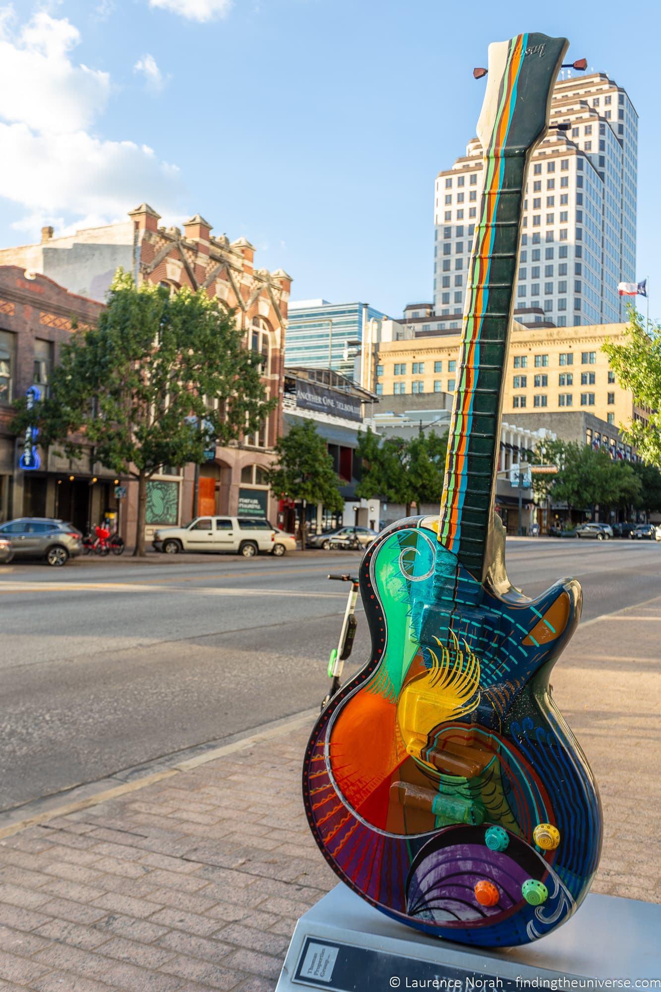 Austin guitar