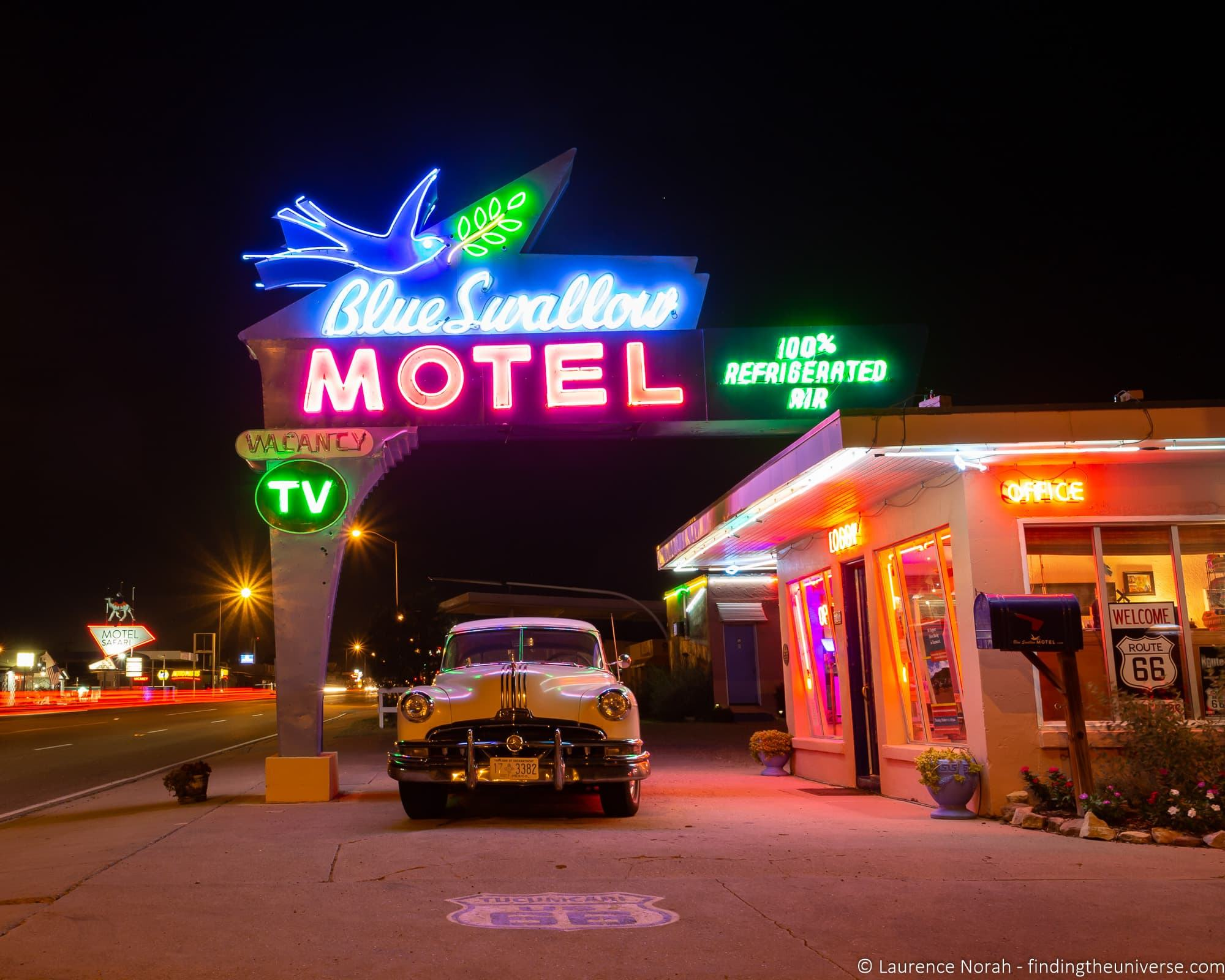Blue Swallow Motel Route 66