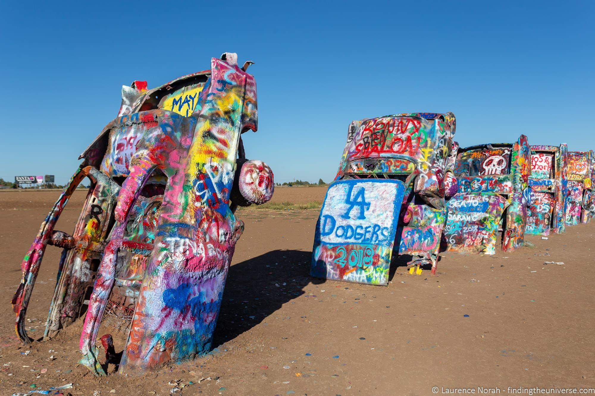 Cadillac Ranch Texas Amarillo Route 66