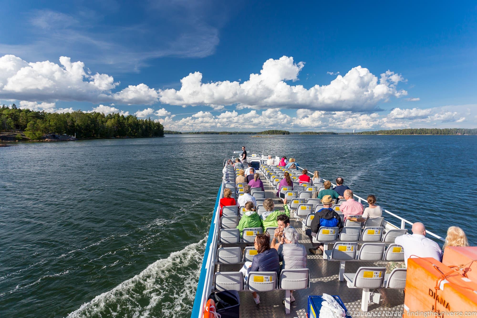 Canal Cruise Helsinki