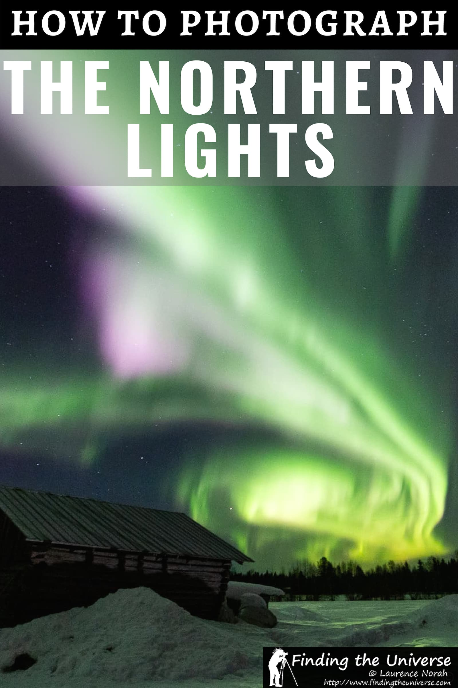 A detailed guide to how to photograph the Northern Lights, including tips on camera settings, camera equipment, how to find the Northern Lights and more!