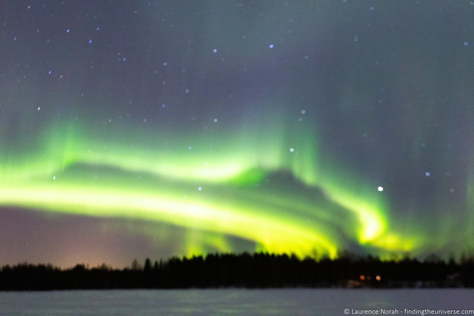 Northern Lights Photography - out of focus