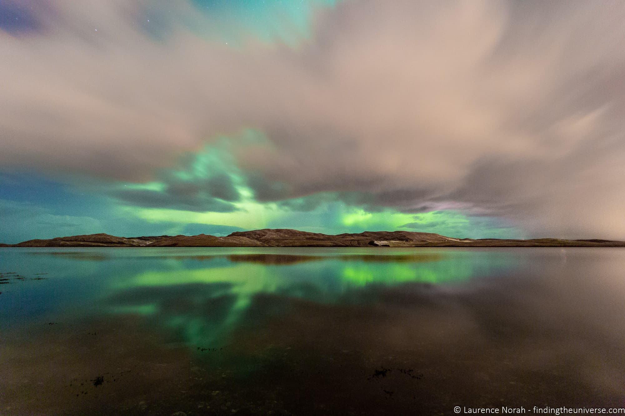 Northern Lights aurora Shetland
