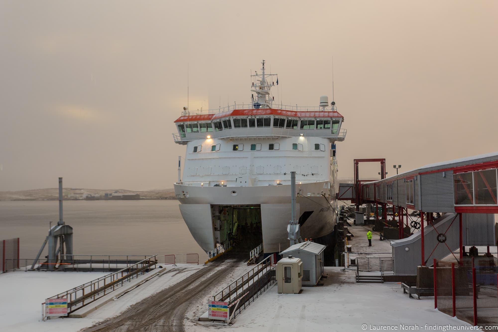 Northlink ferry Shetland