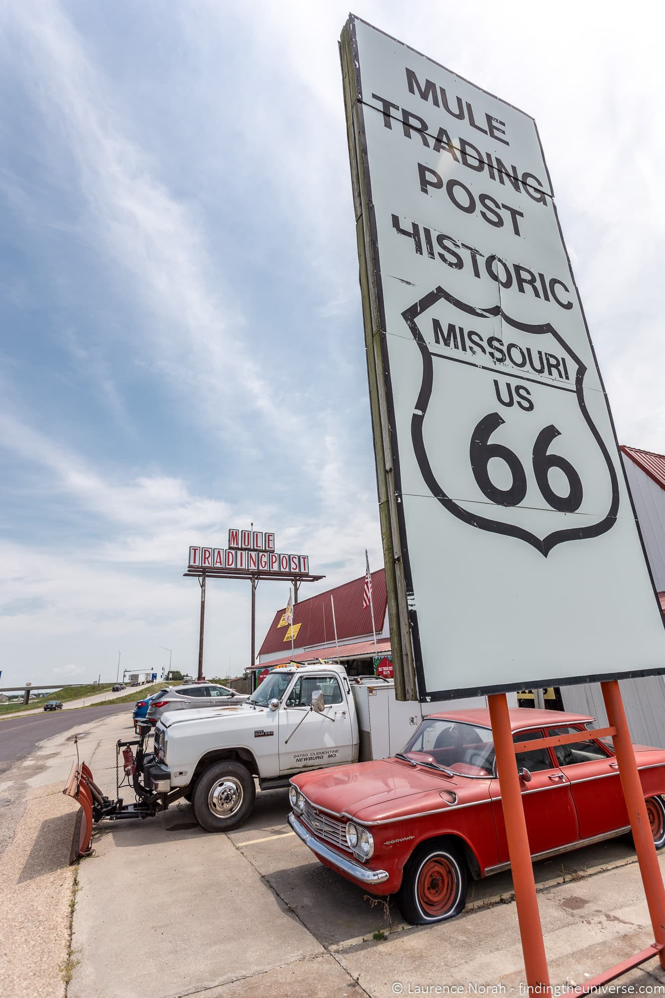 Route 66 Missouri - trading post
