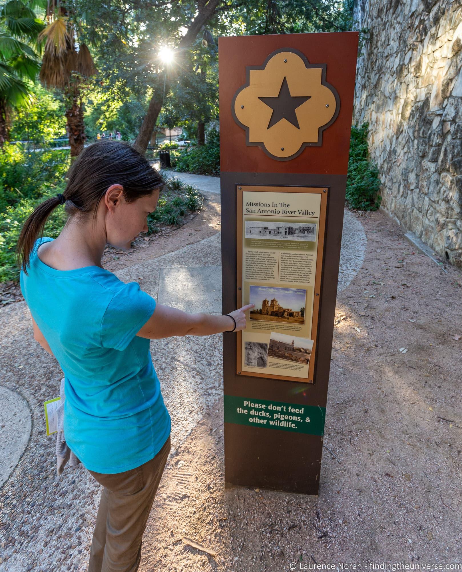 San Antonio River Walk walking trail