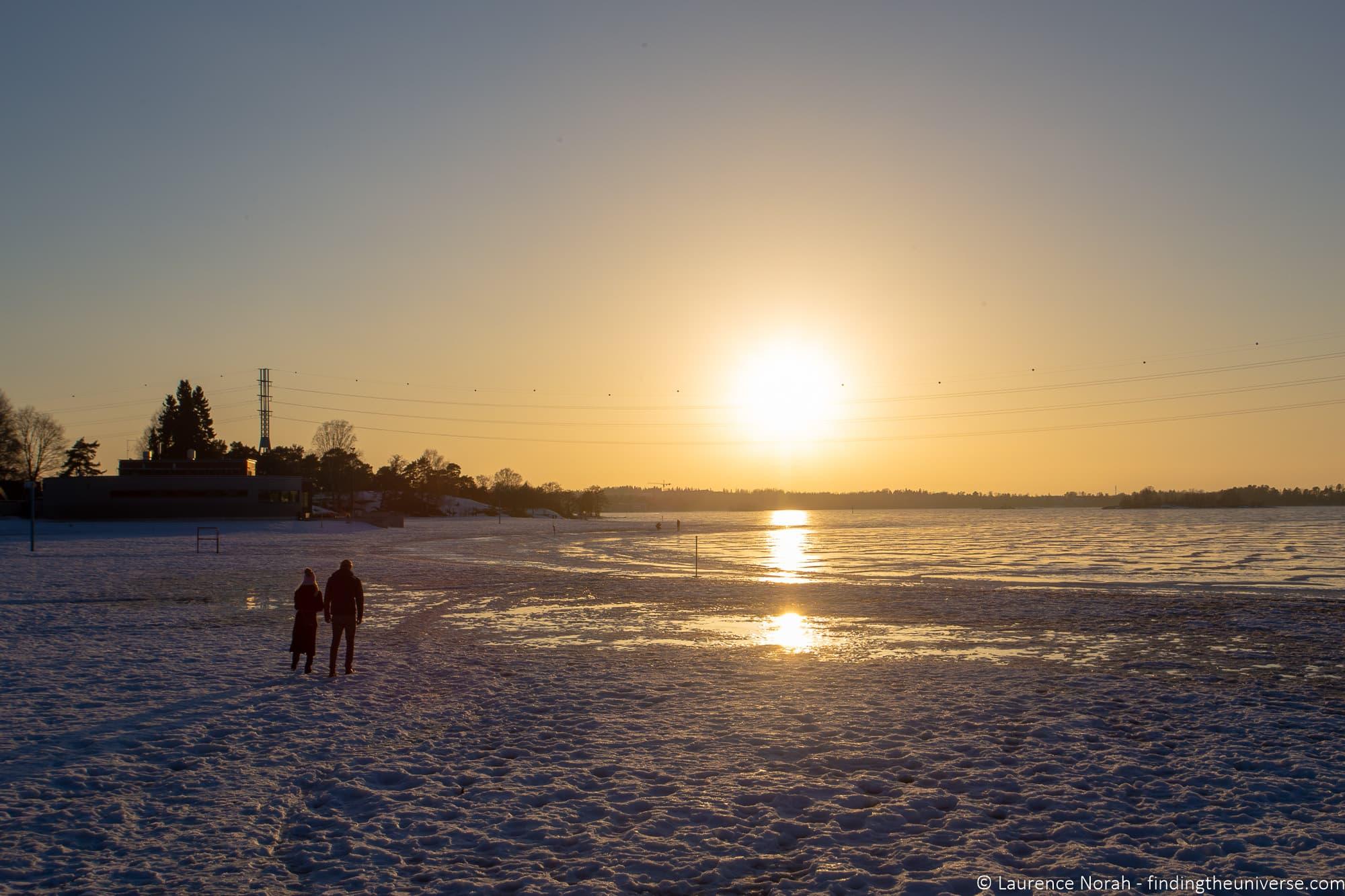 Sunset Helsinki