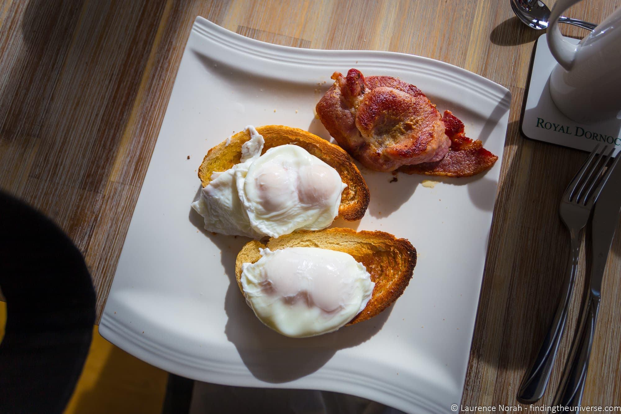 The Steading B&B breakfast