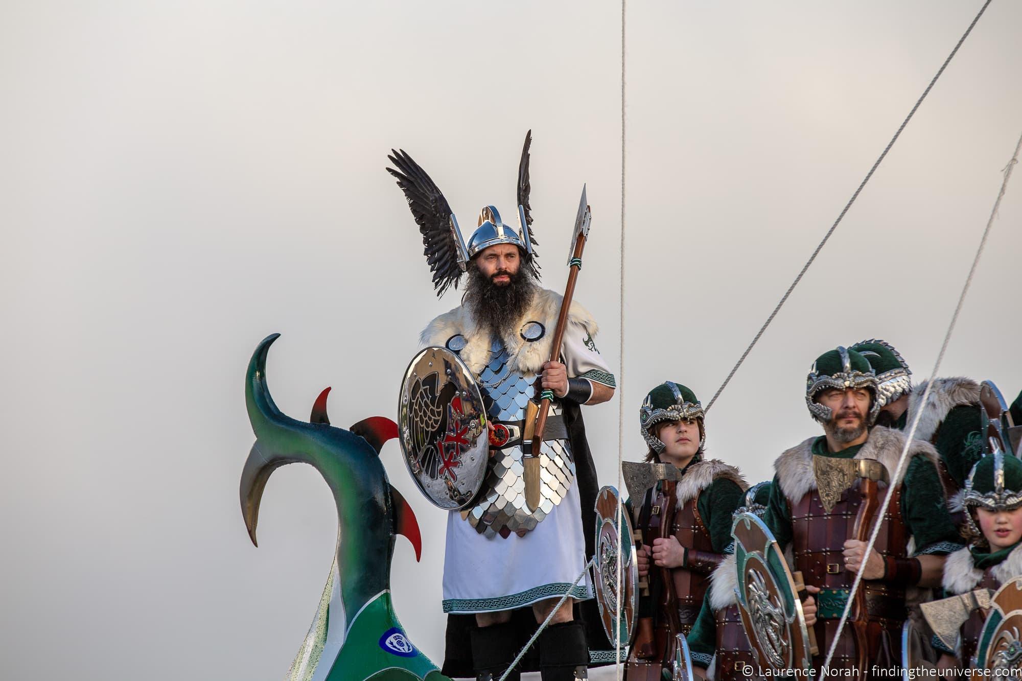 Up Helly Aa festival Lerwick Shetland
