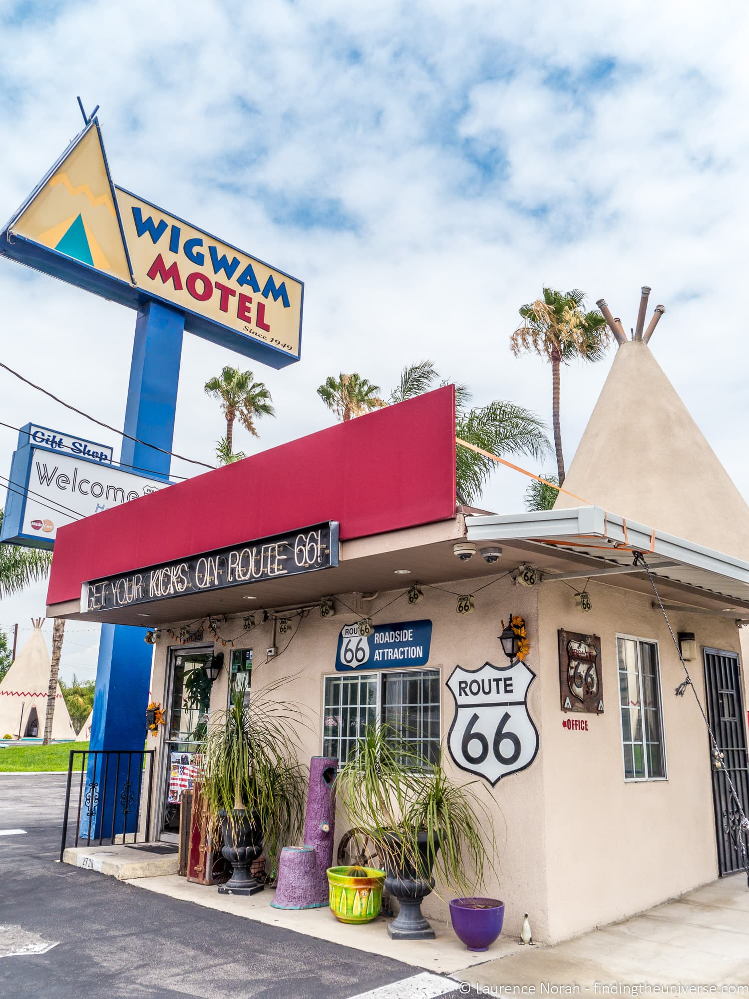 Wigwam Motel Route 66 California