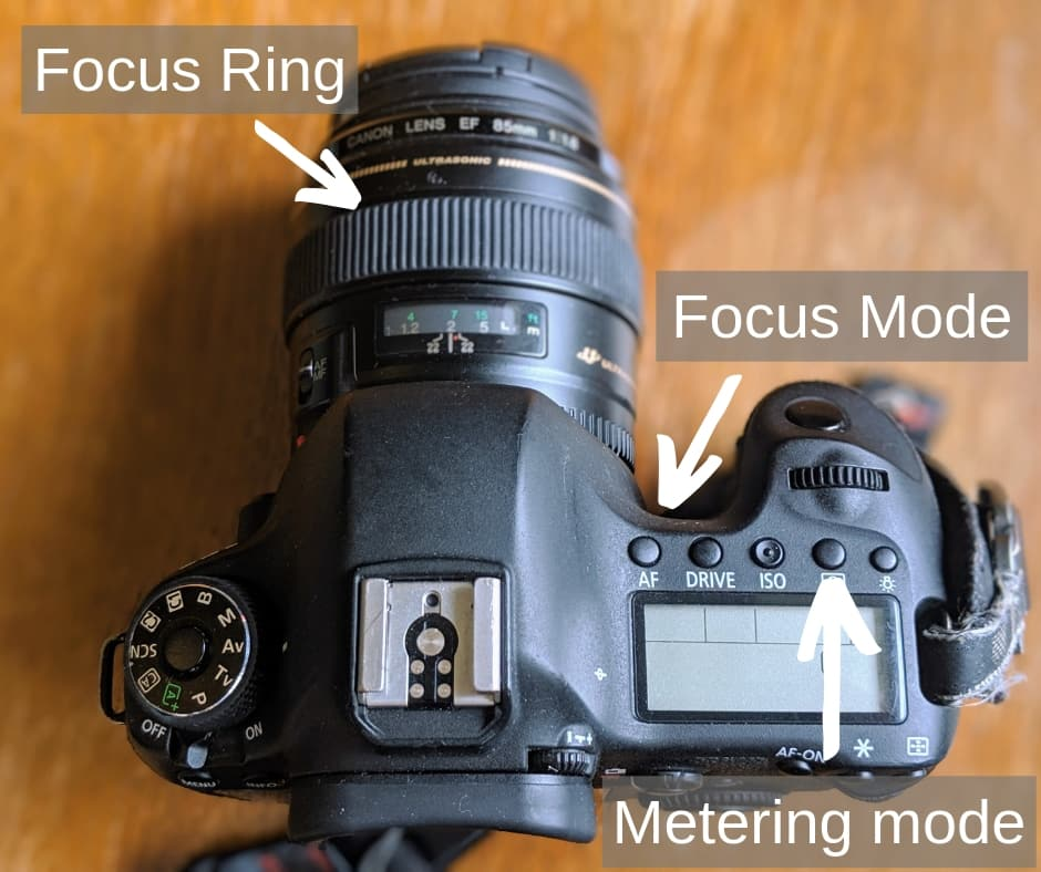 DSLR Camera settings 2