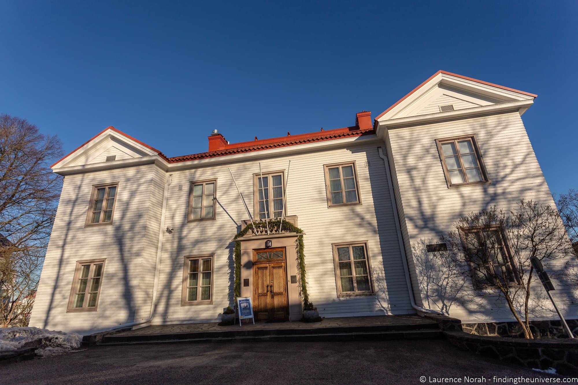 Mannerheim House Museum Helsinki