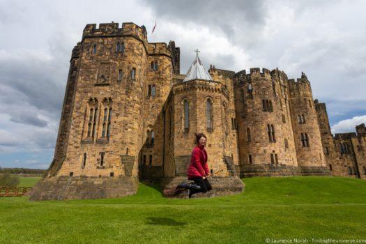 Alnwick Castle harry Potter UK FIlming location