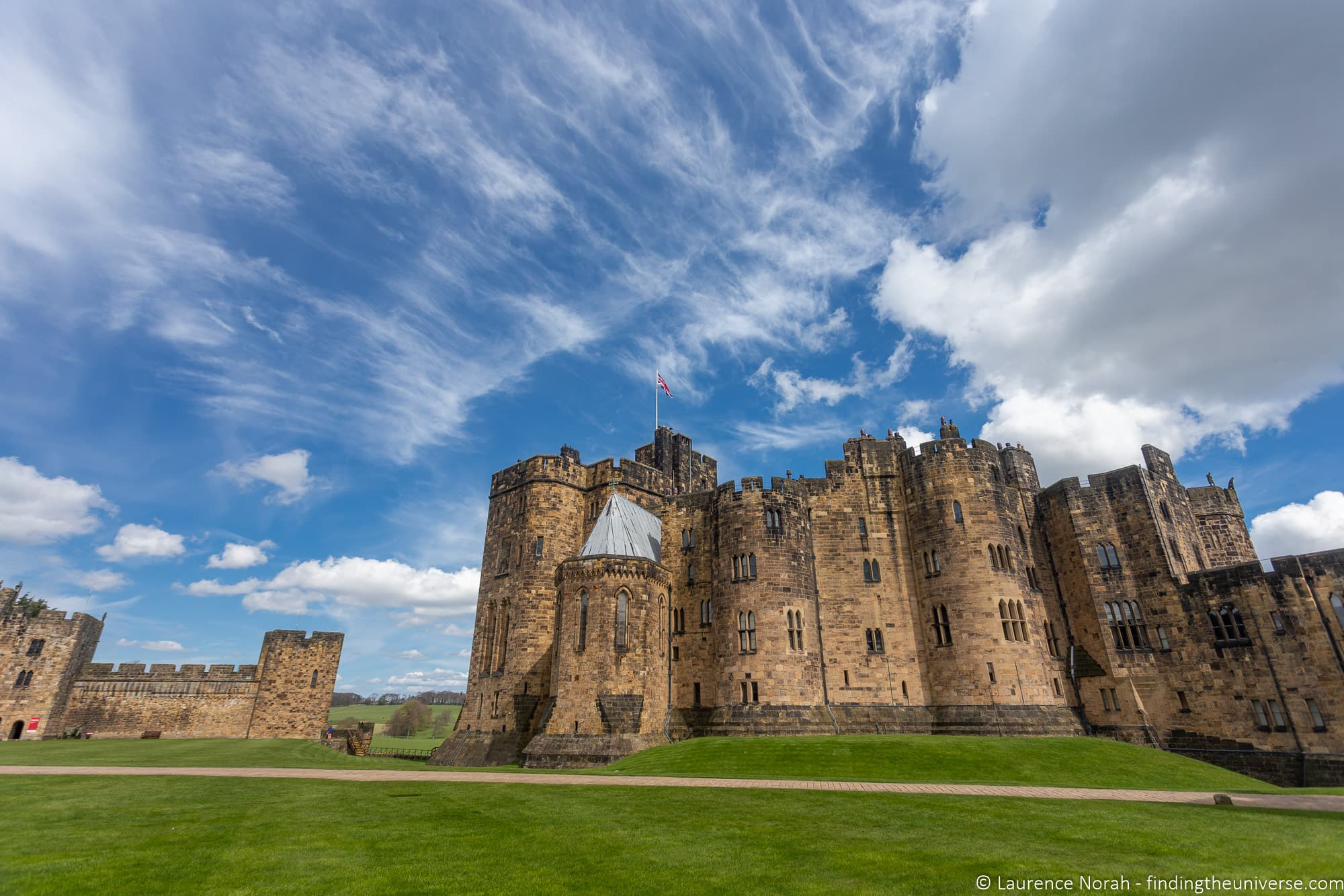 Alnwick Castle harry Potter UK FIlming location