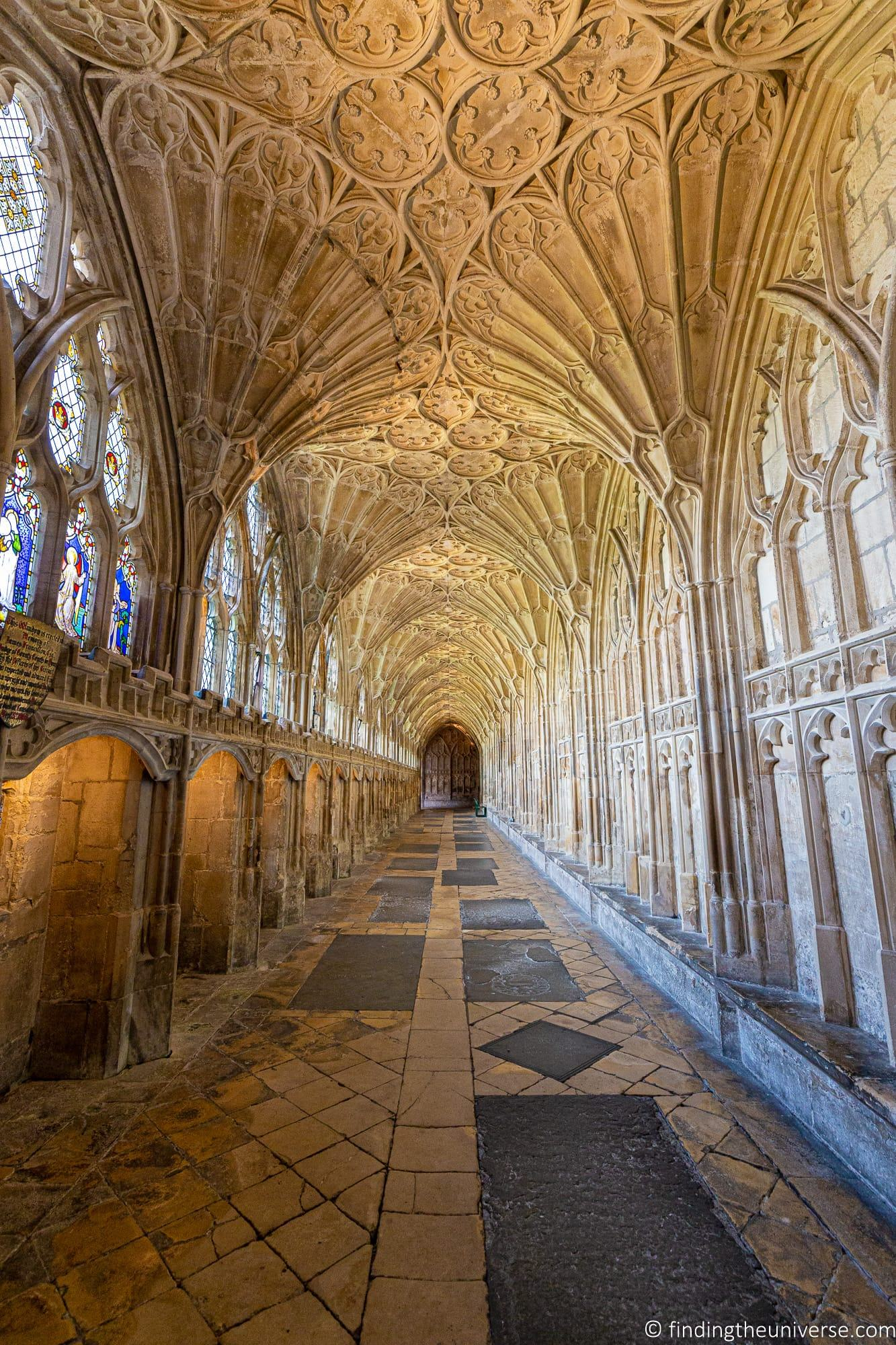 Harry Potter FIlming Location Gloucester Cathedral