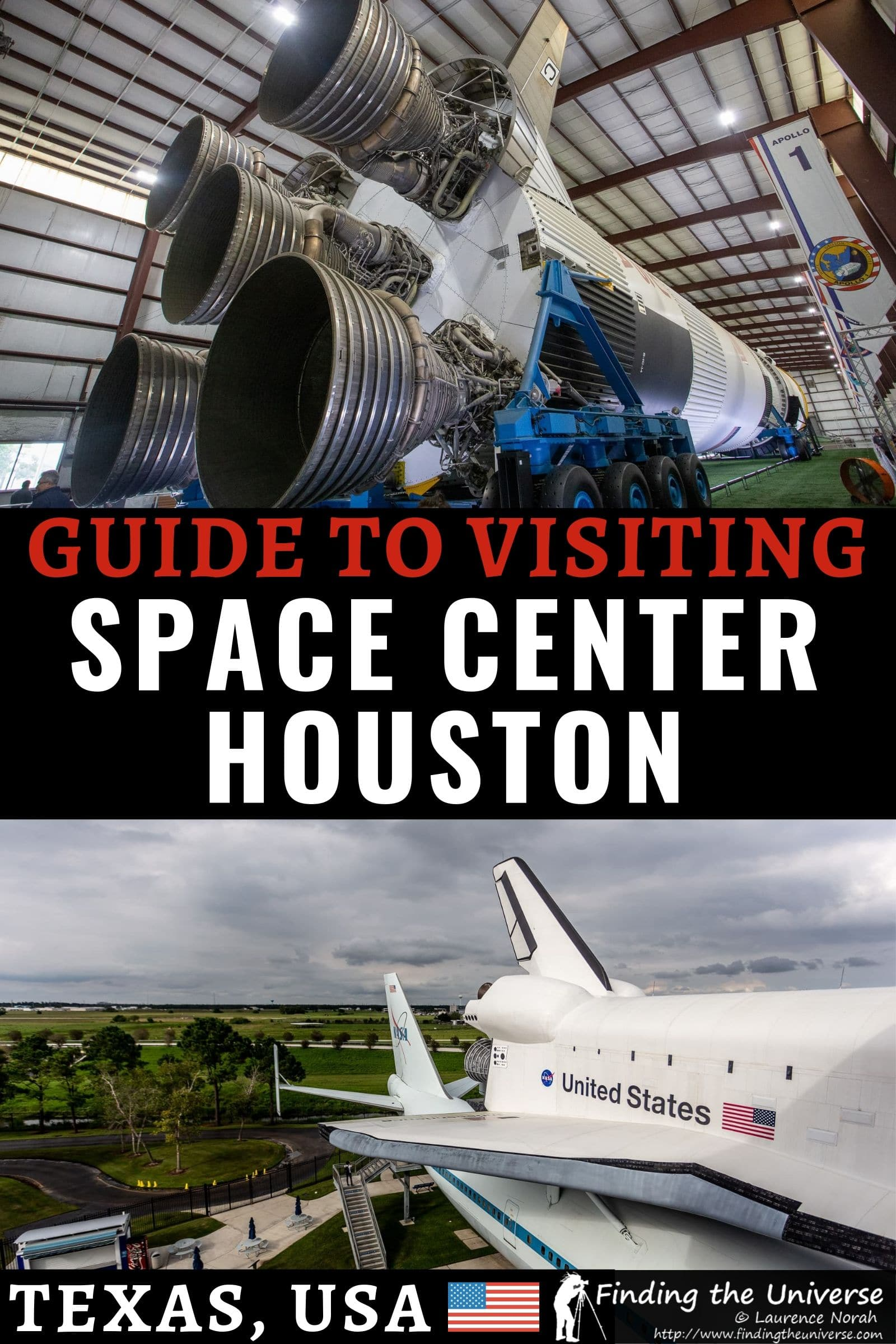 A detailed guide to visiting the Space Center in Houston. Has everything you need to know to plan your visit, including highlights, the tram tour, and more!