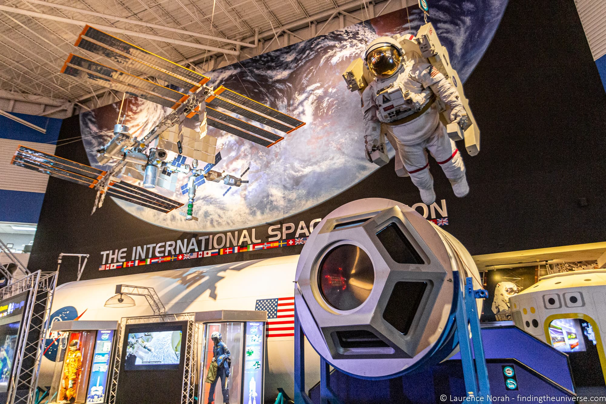 Space Center Houston International Space Station Gallery