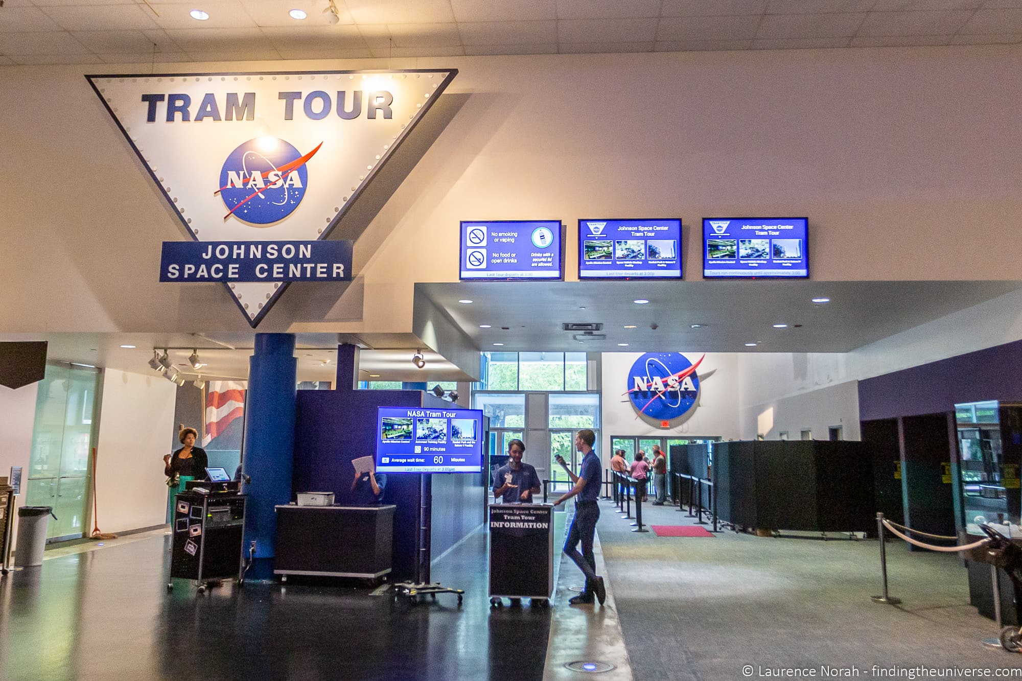 Space Center Houston Tram Tour infopoint