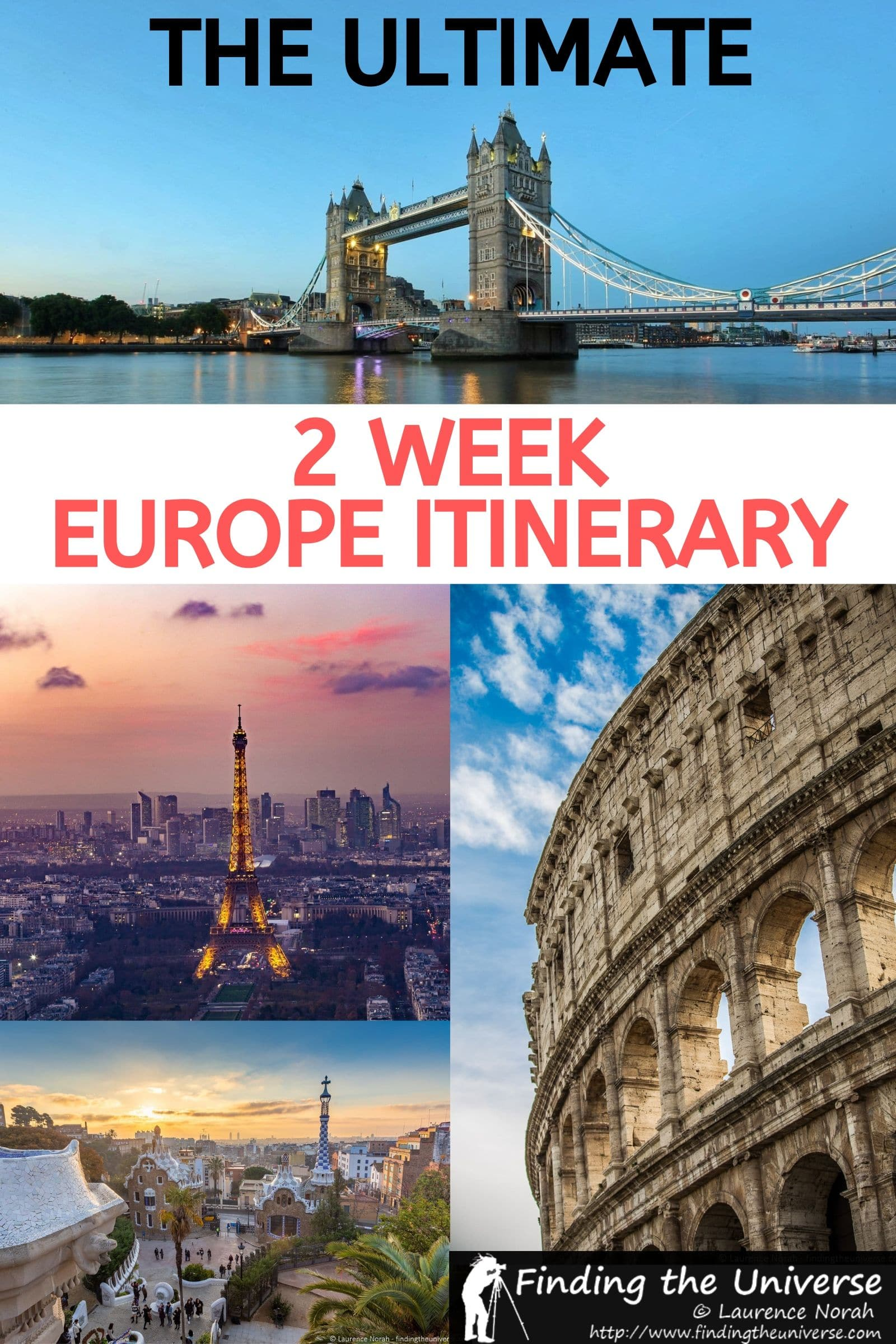 A detailed 2 week Europe itinerary, with things to do, tips for travel, accommodation and money saving