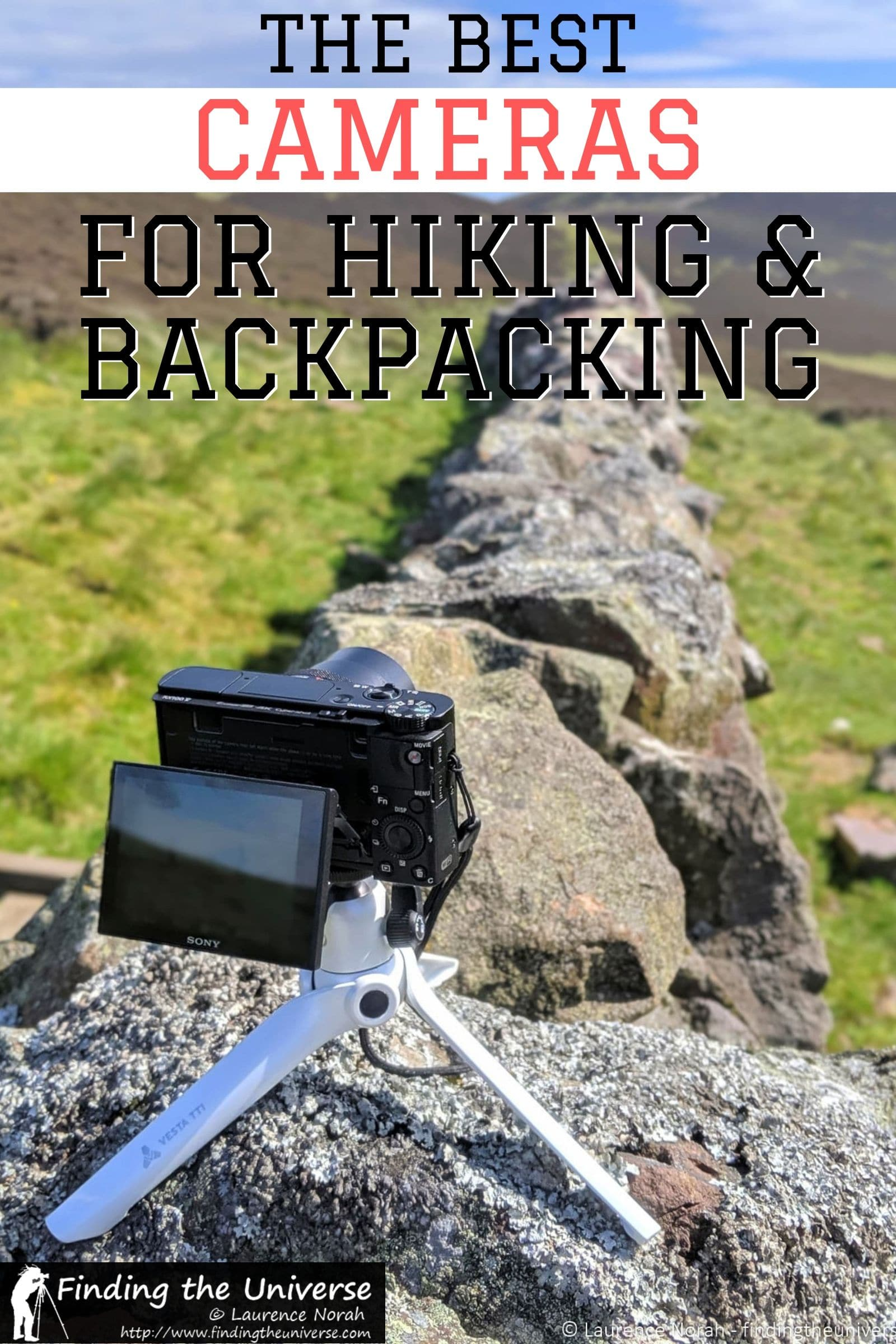 A guide to the best camera for hiking and/or backpacking. Has camera suggestions across a range of budget, plus detailed tips on what to look for