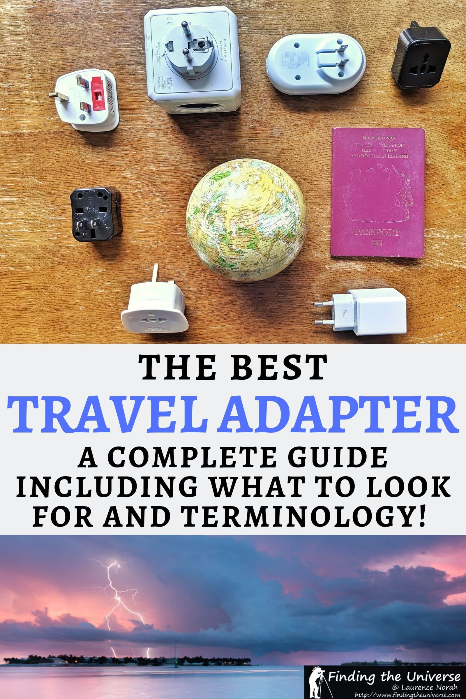 A detailed guide to the best travel adapter, with advice on what to look for when buying a travel adapter as some of the best options on the market in 2019!