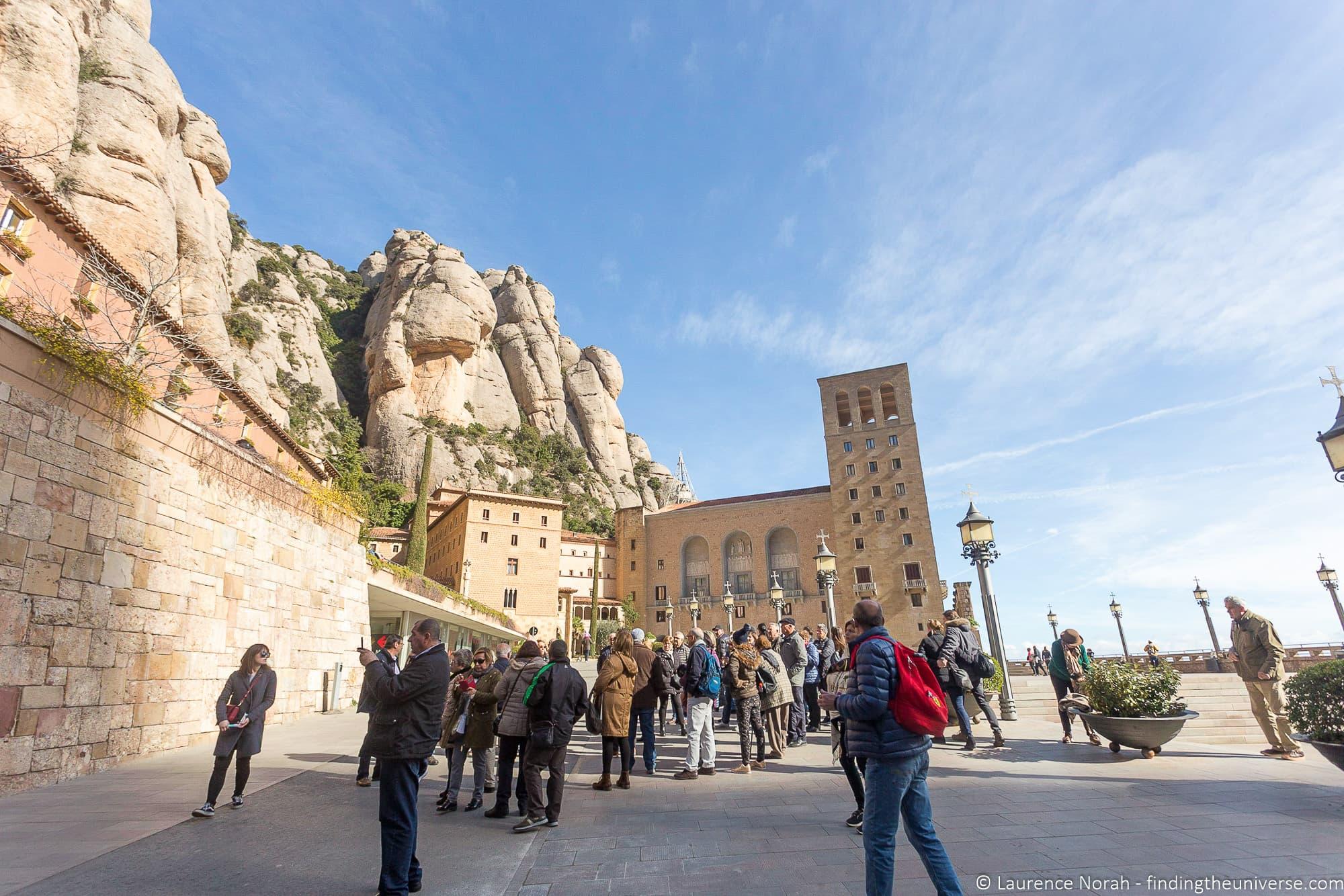 Crowds at Montserrat