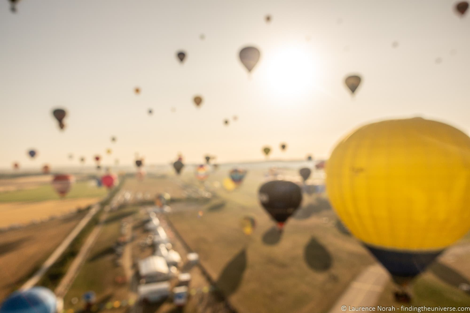 Grand Mondial Est hot Air Balloon Show