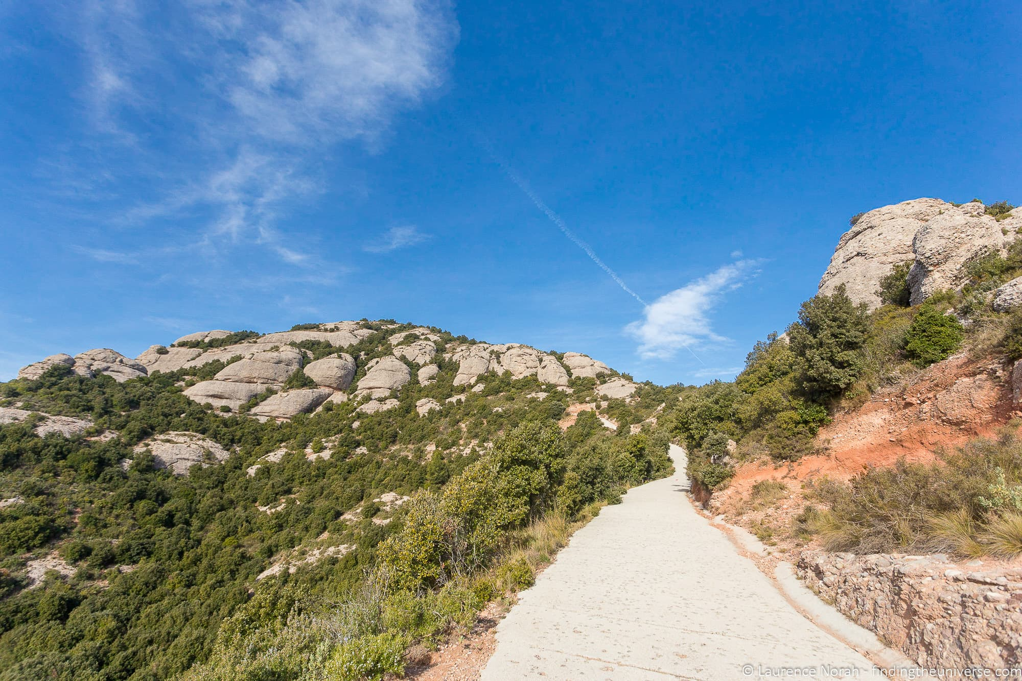 HIking trails Montserrat