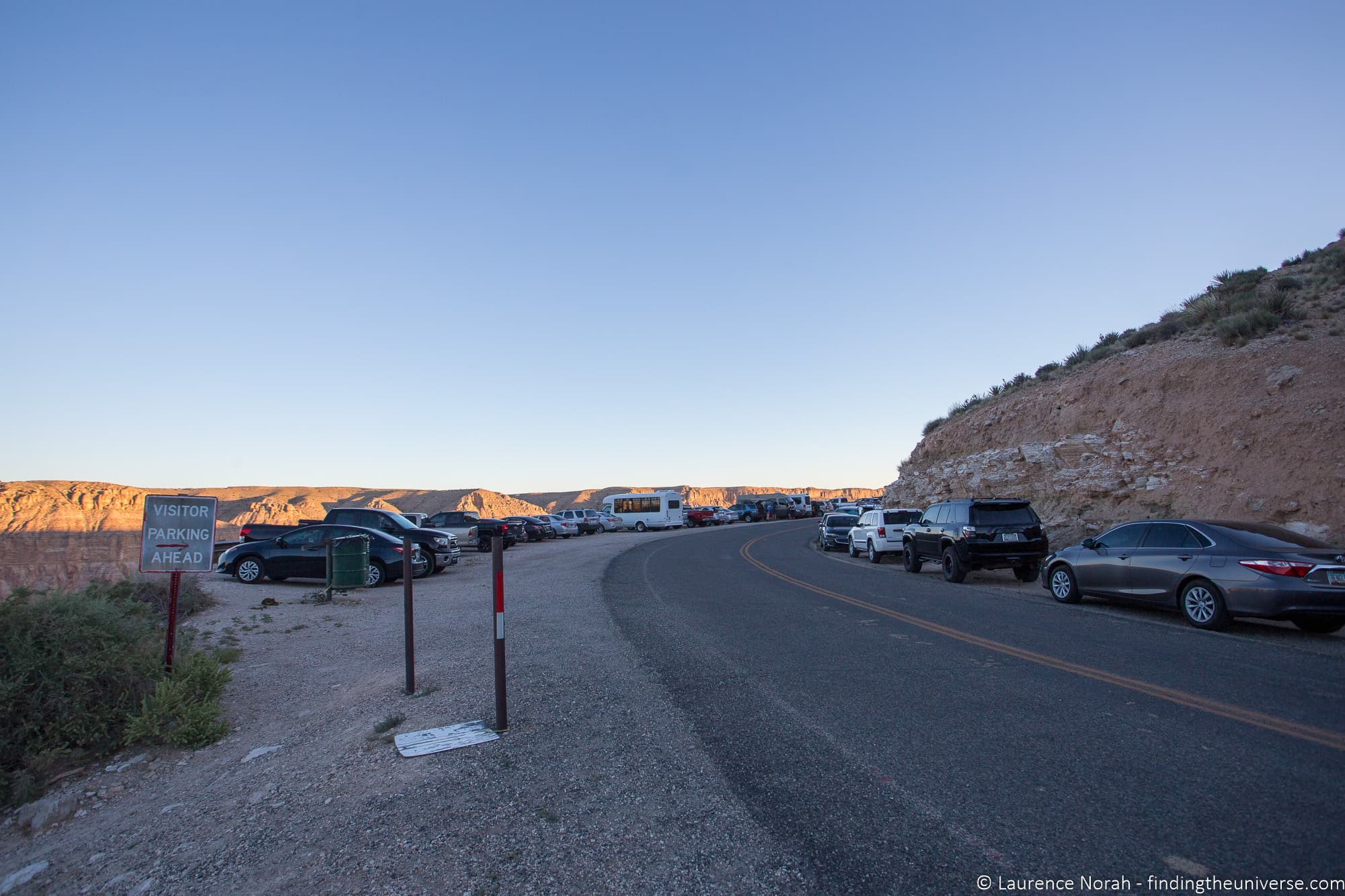 Havasupai Trailhead Parking