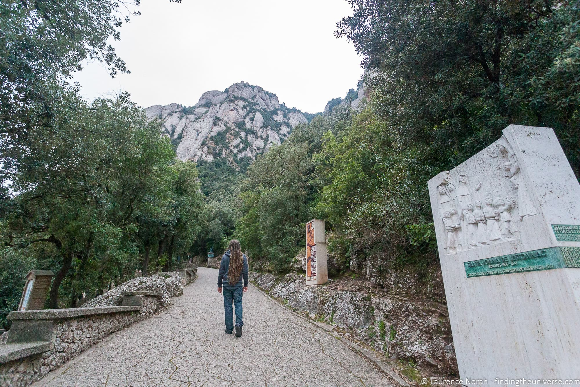 Hiking at Montserrat