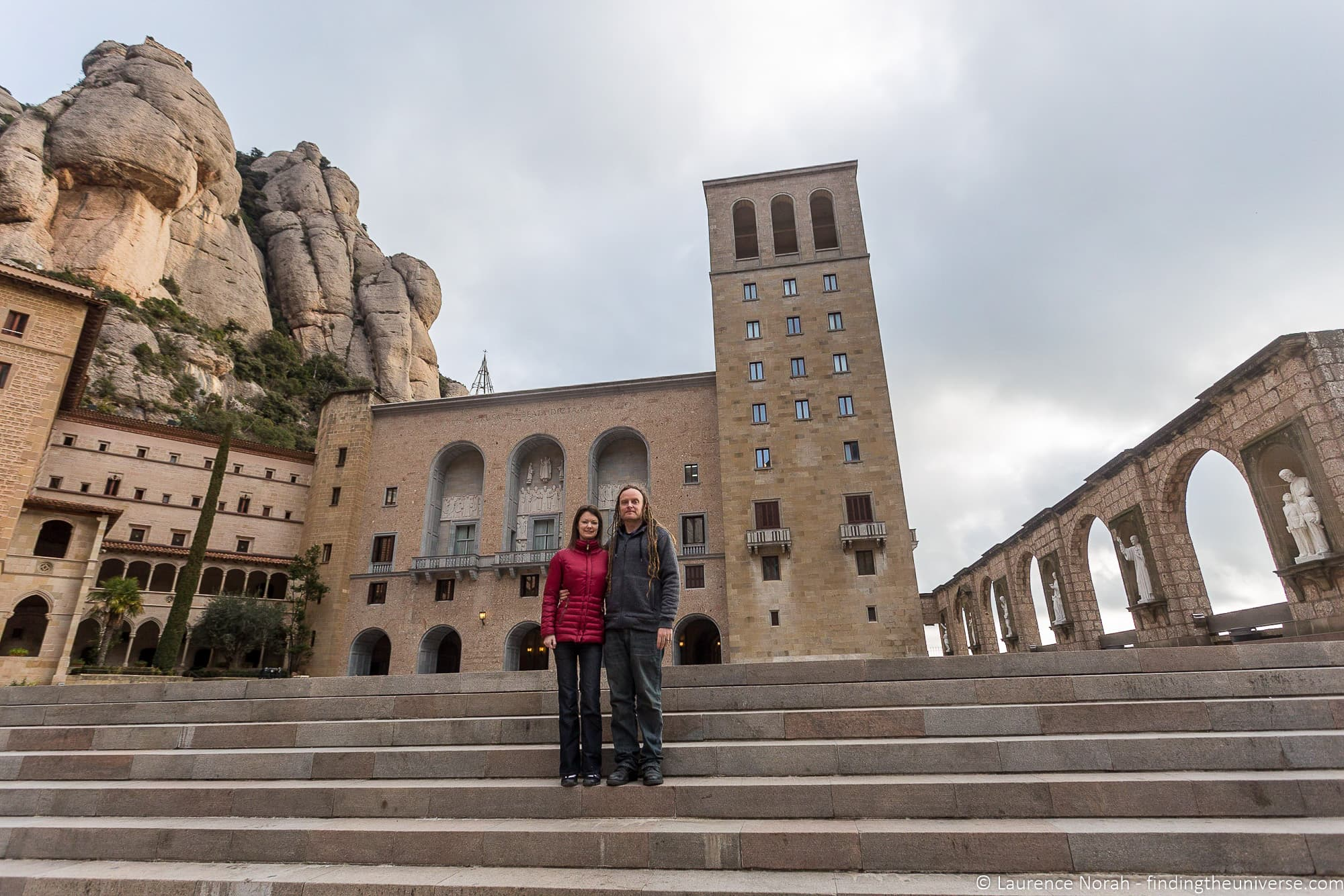 Laurence and Jessica Norah at Montserrat