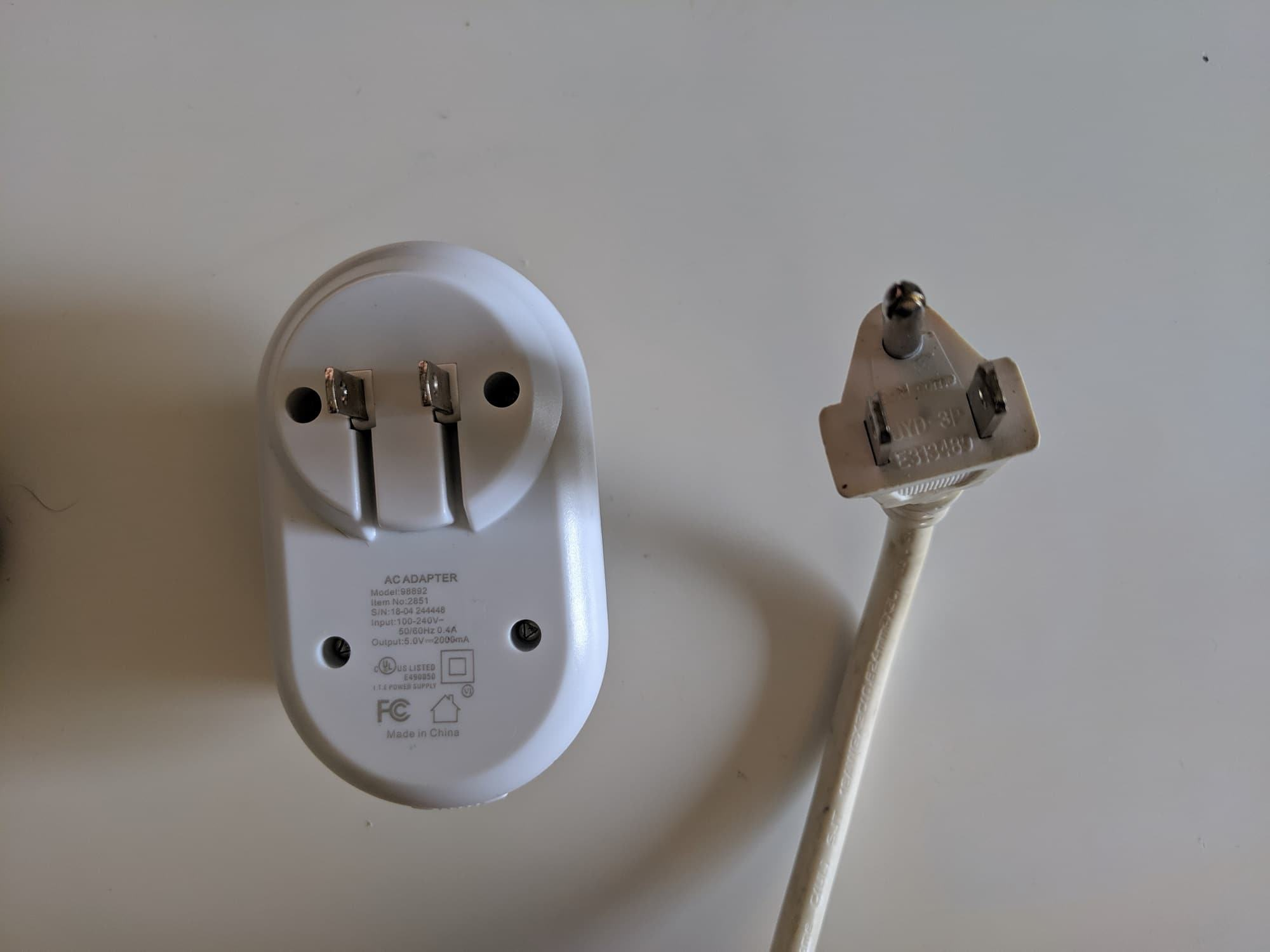 USA Type A and B plugs