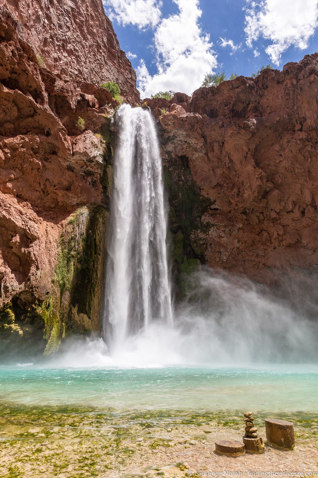 Mooney falls havasupai