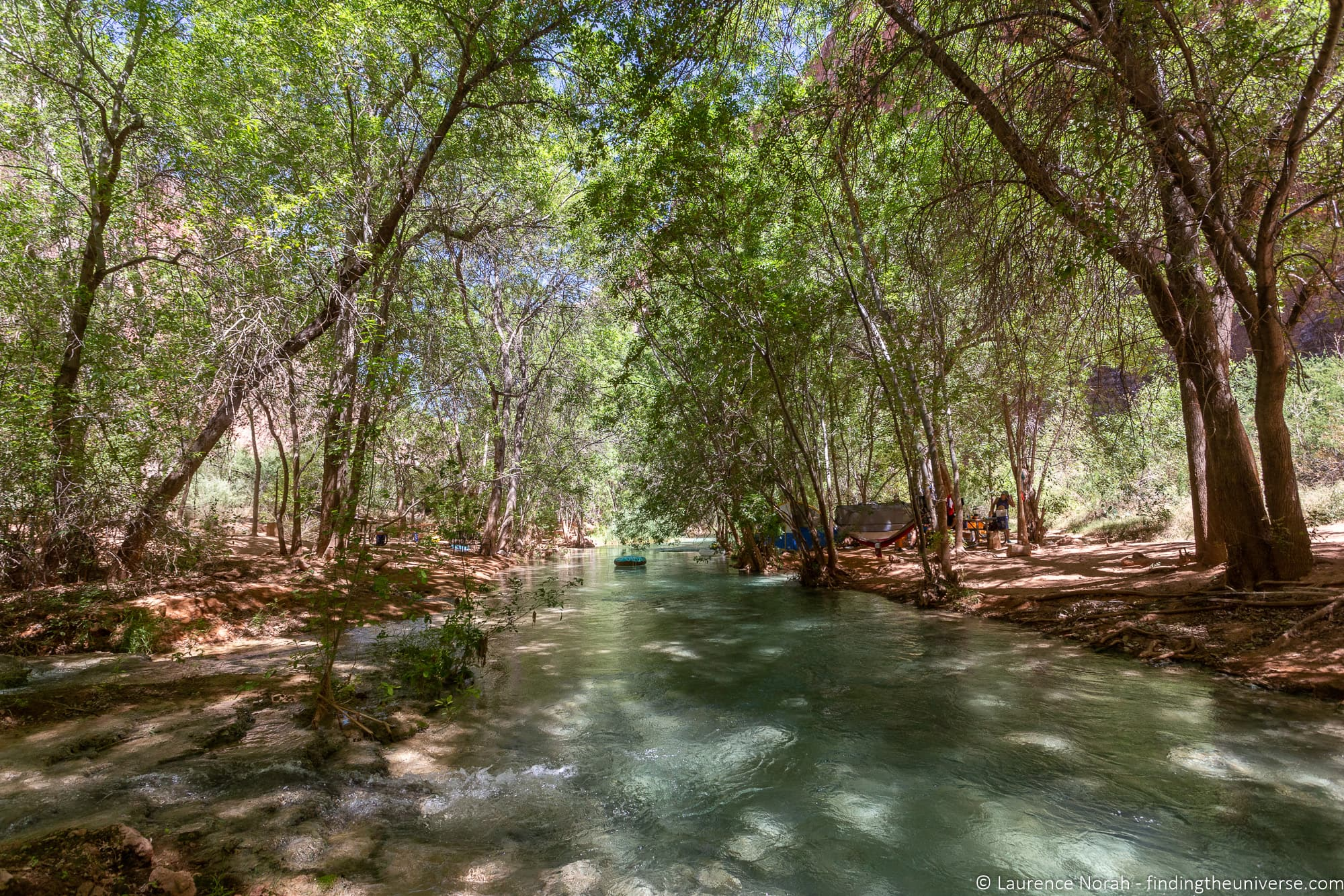 River in Havasu Campground