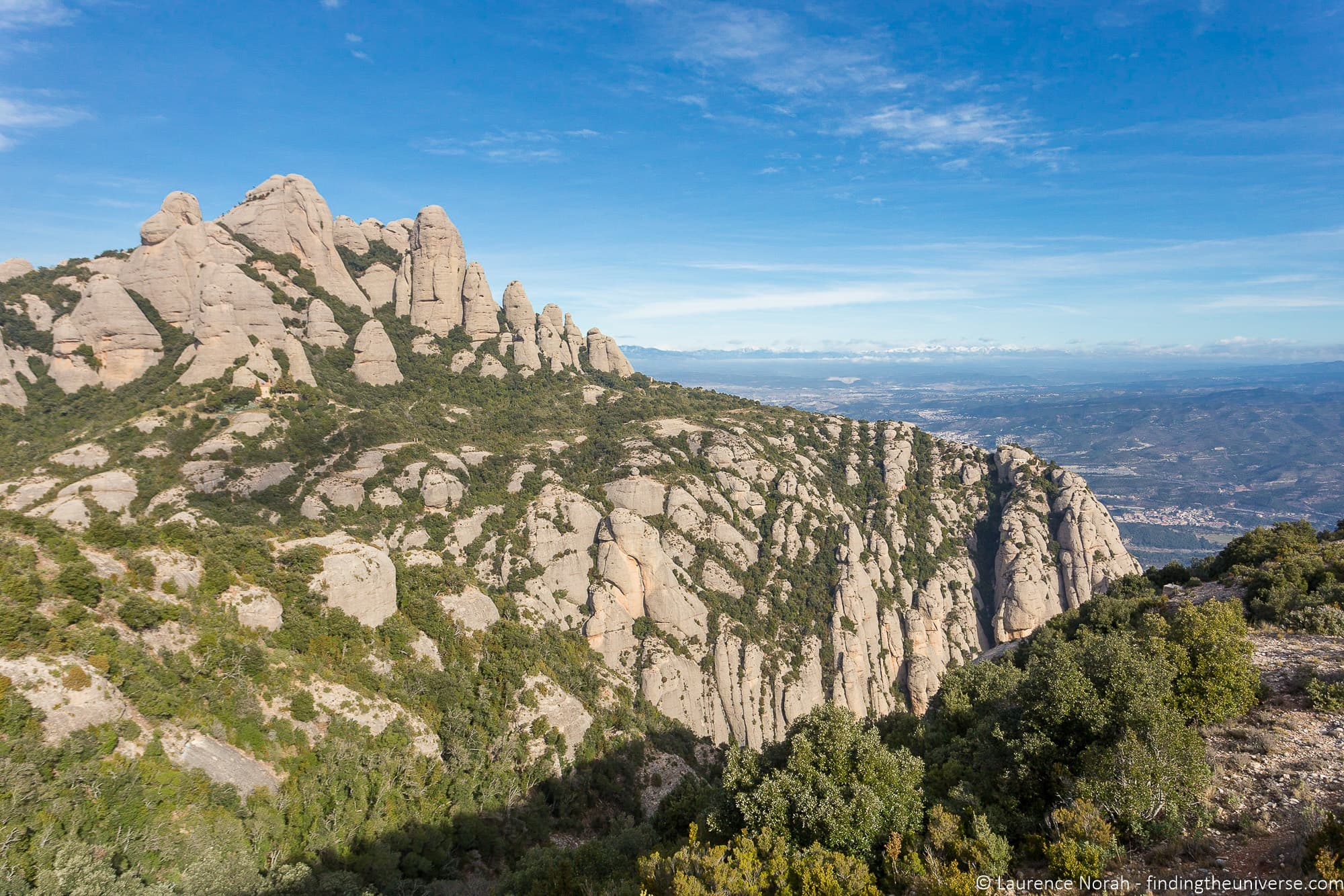 HIking from Sant Joan Funicular