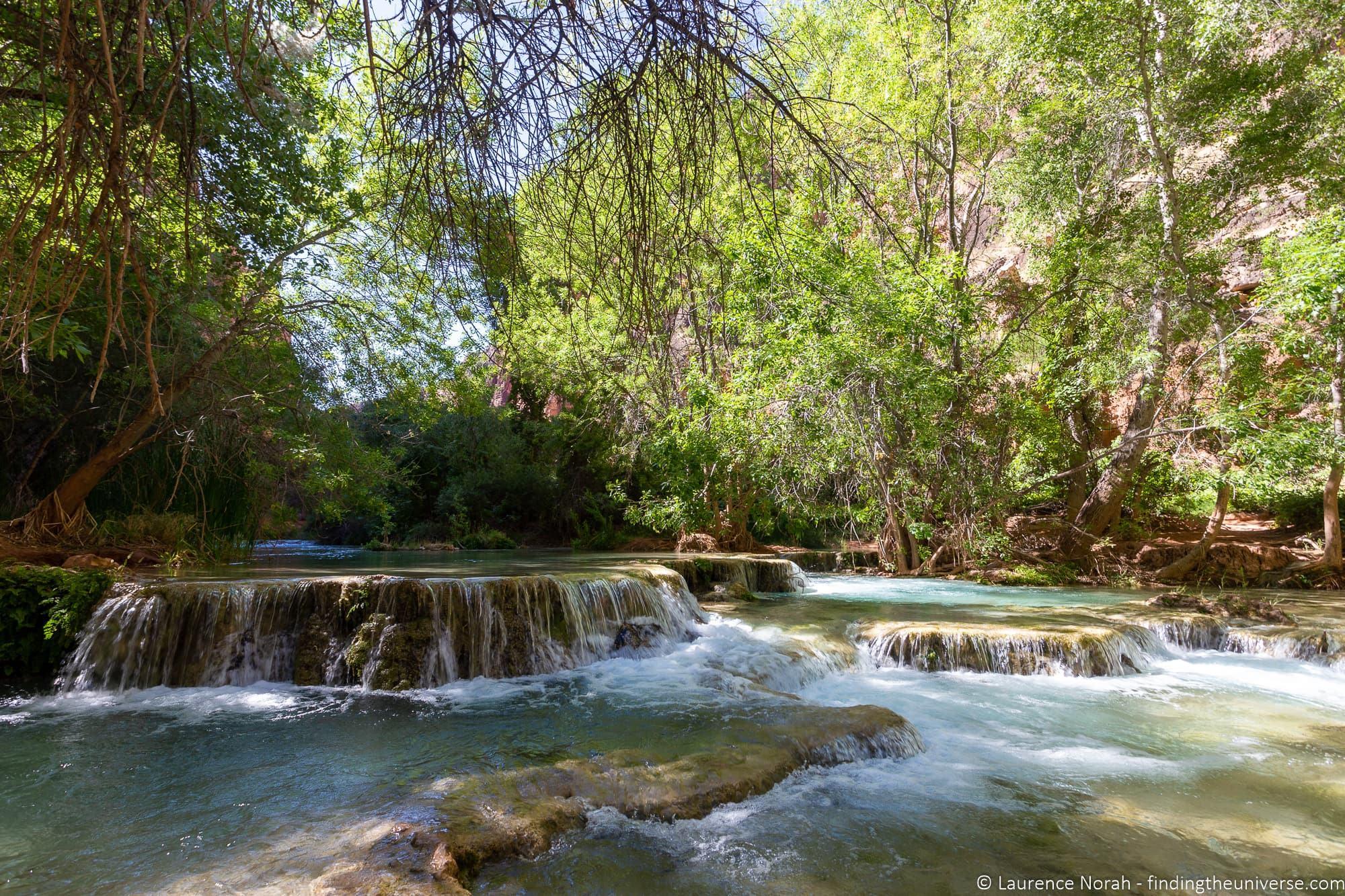 Trail to Beaver Falls havasupai