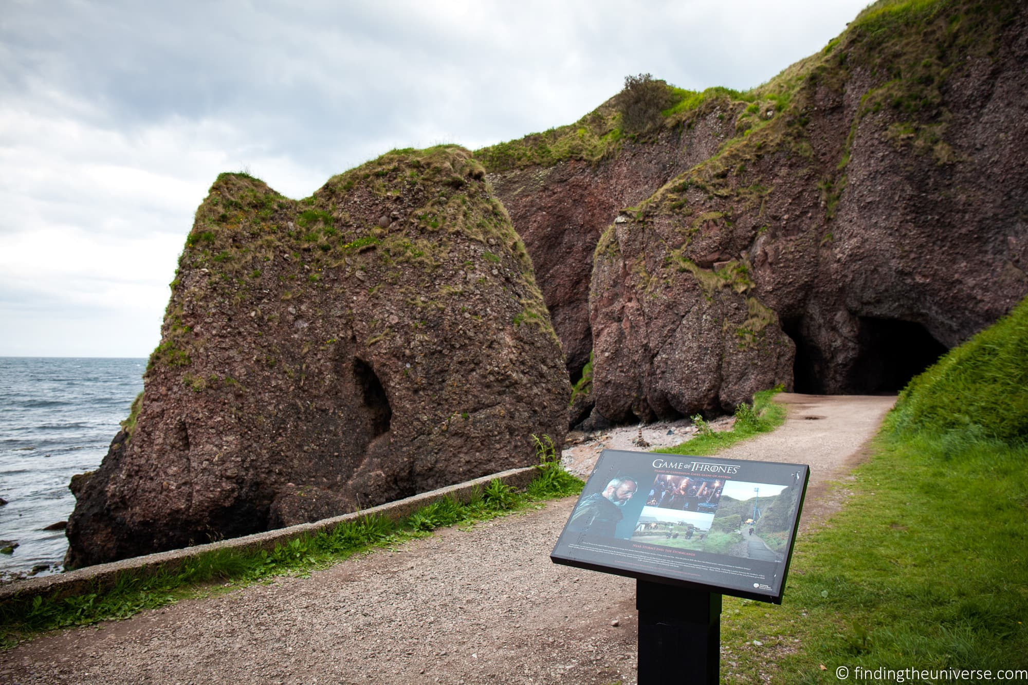 Cushendun Caves - Stormlands Game of Thrones