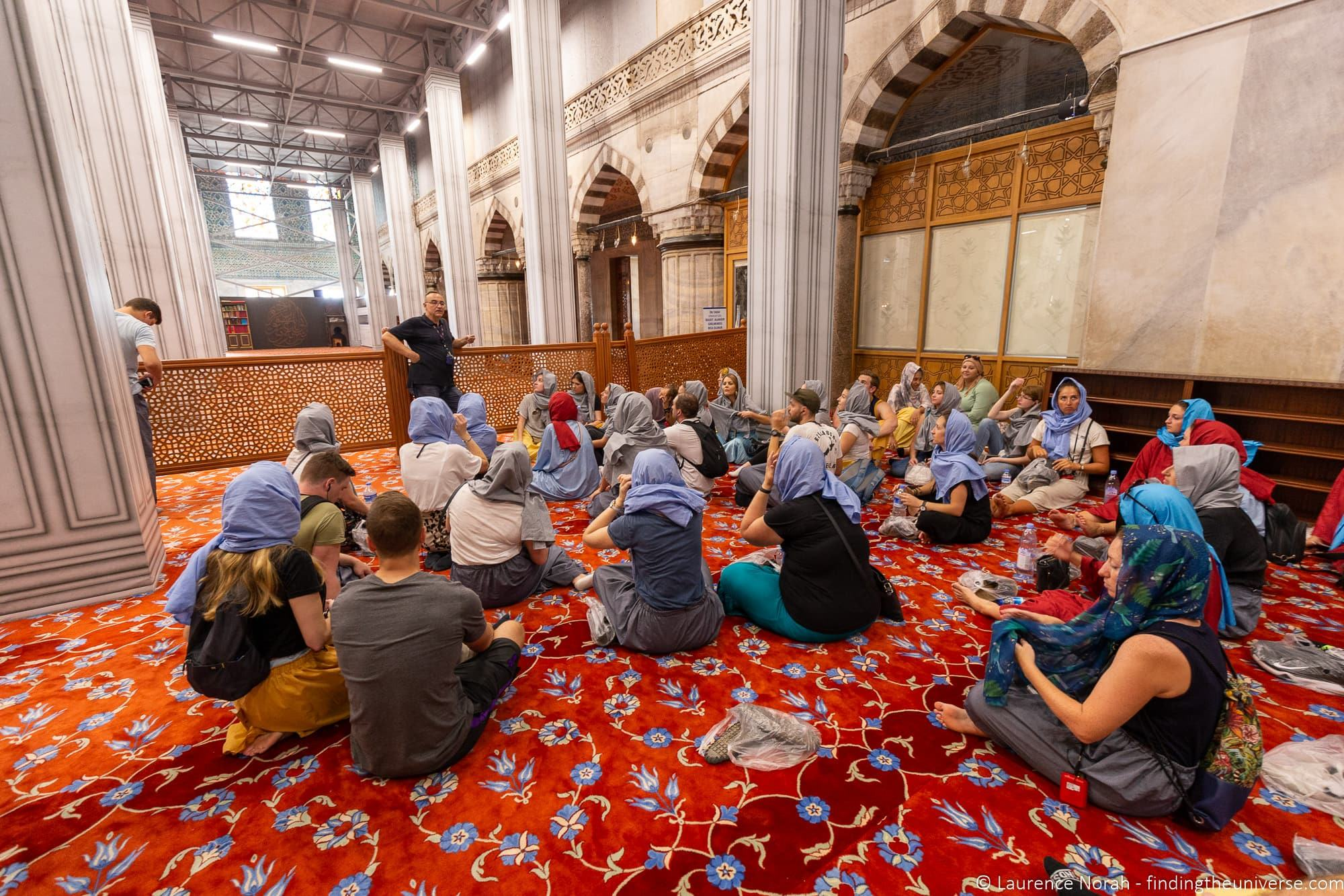 Travel Talk Tours Turkey Blue Mosque