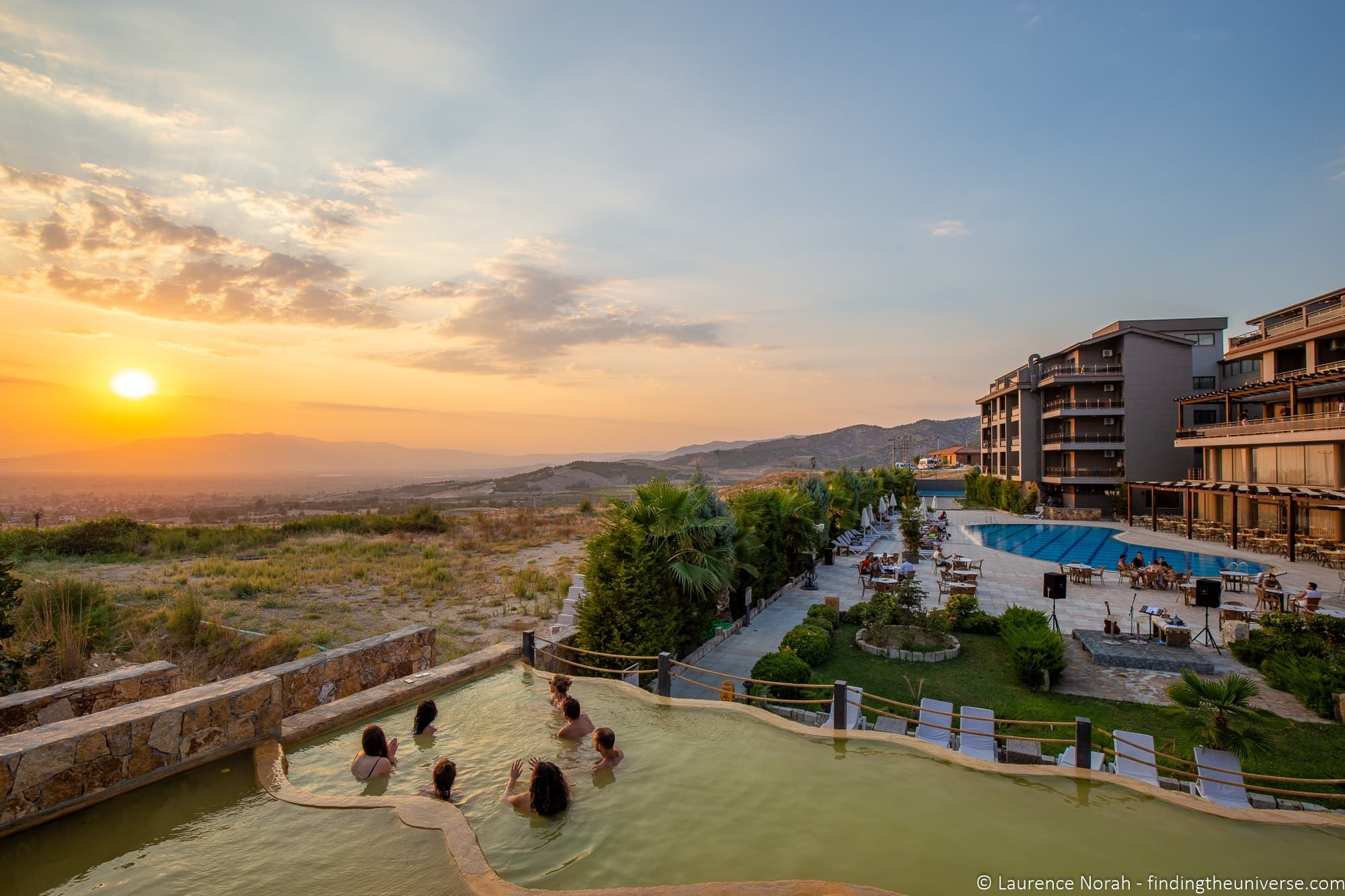 Travel Talk Tours Turkey Pamukkale hotel