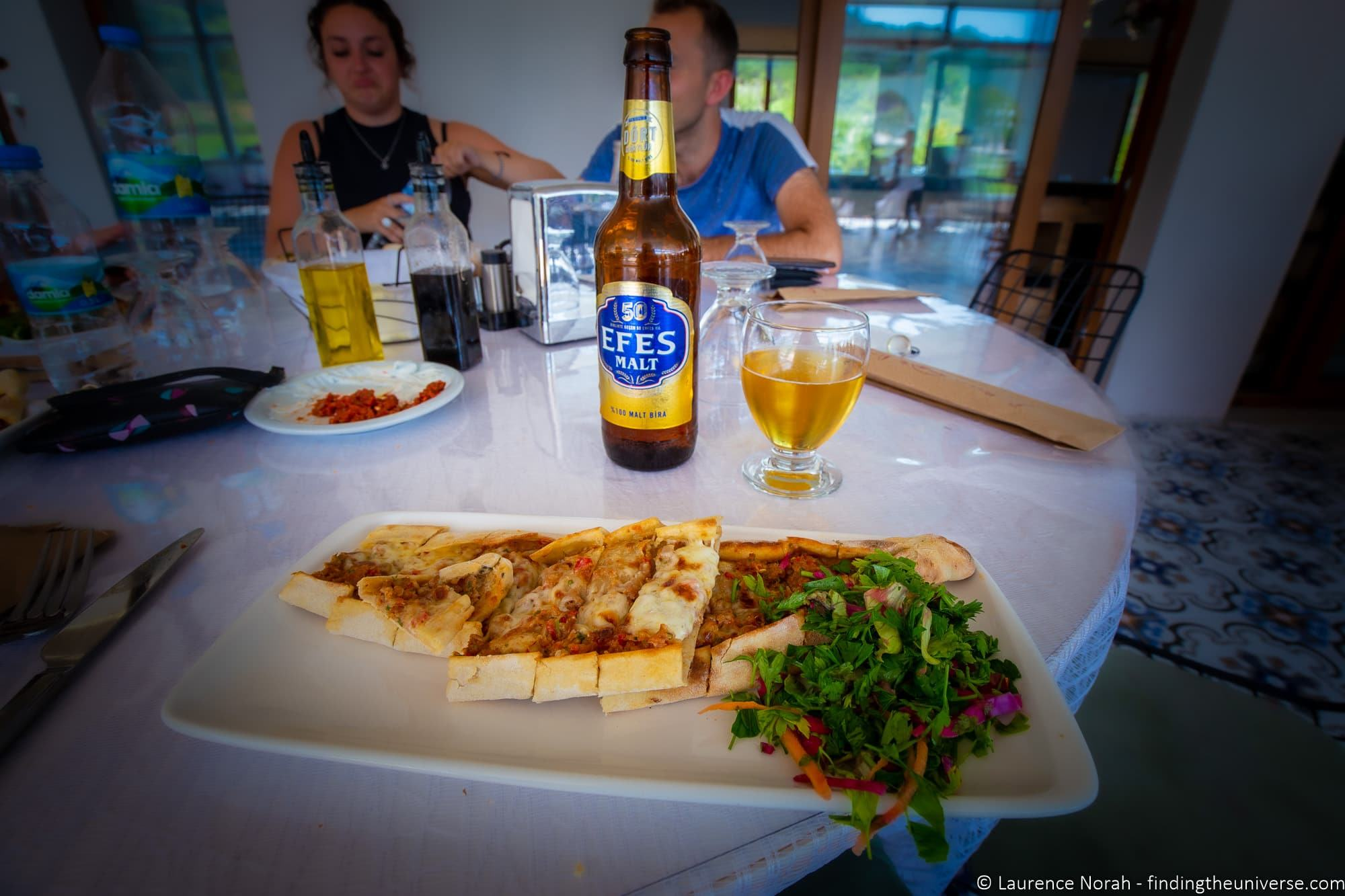 Travel Talk Tours Turkey Pide food