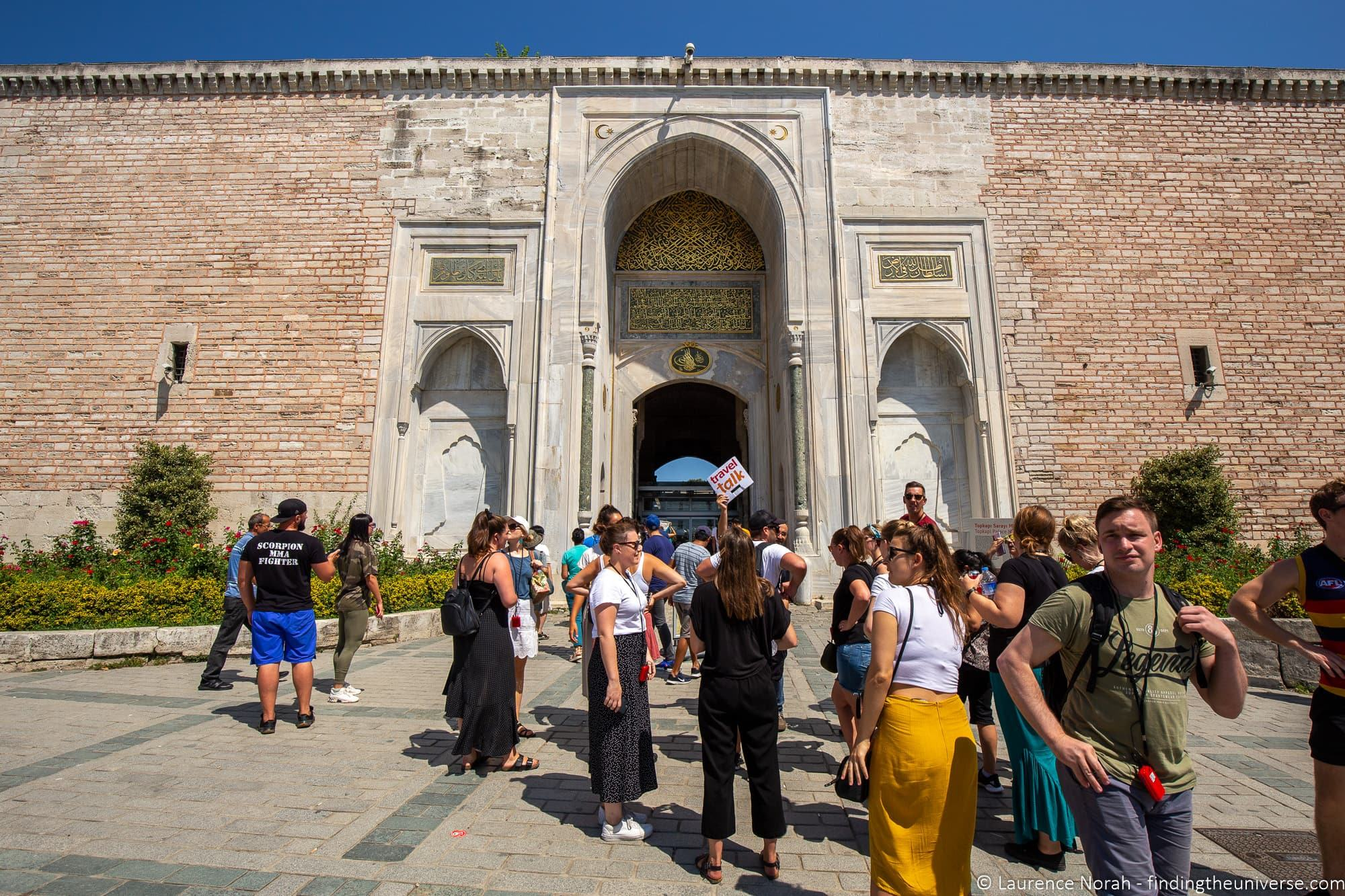Travel Talk Tours Turkey Topkapi Palace Museum