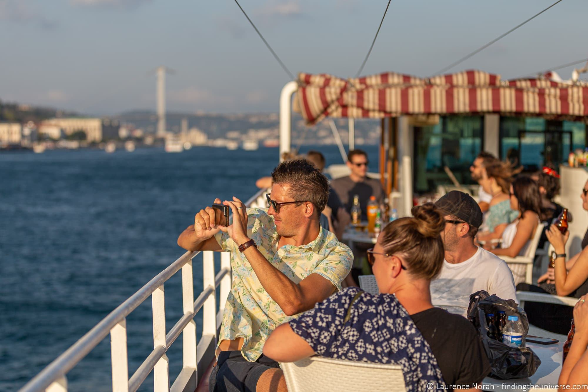 Travel Talk Tours Turkey sunset cruise on the Bosphorus