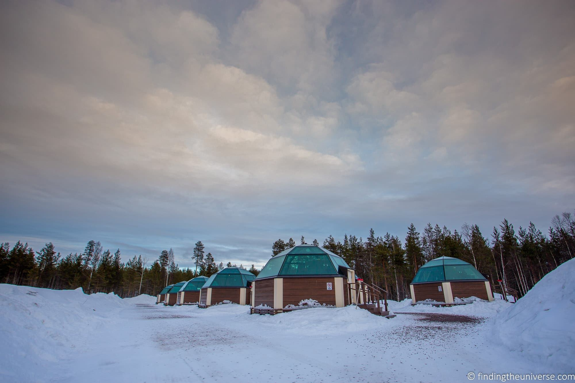 Glass igloo Finland